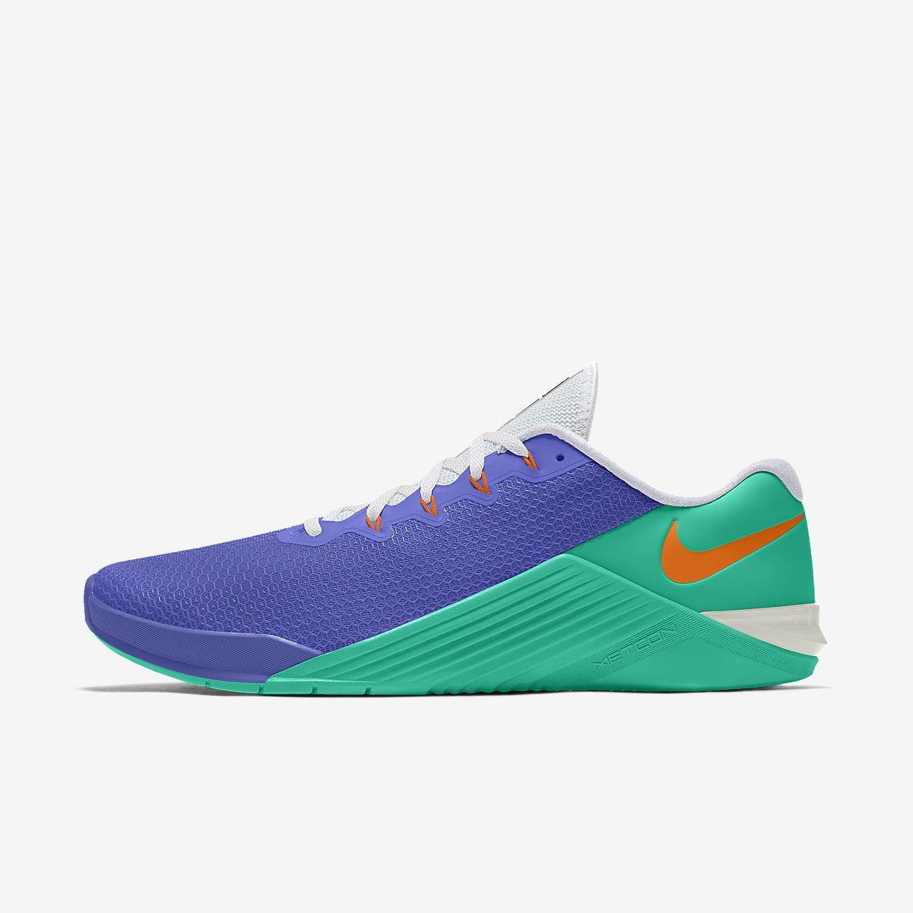 Scarpa da cross training/sollevamento pesi personalizzabile Nike Metcon 5 By You