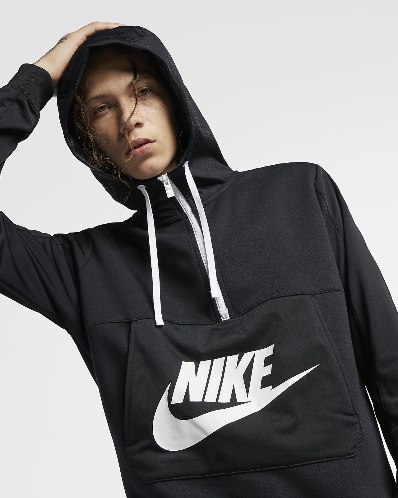 Sweat à capuche demi zippé Nike Sportswear pour Homme