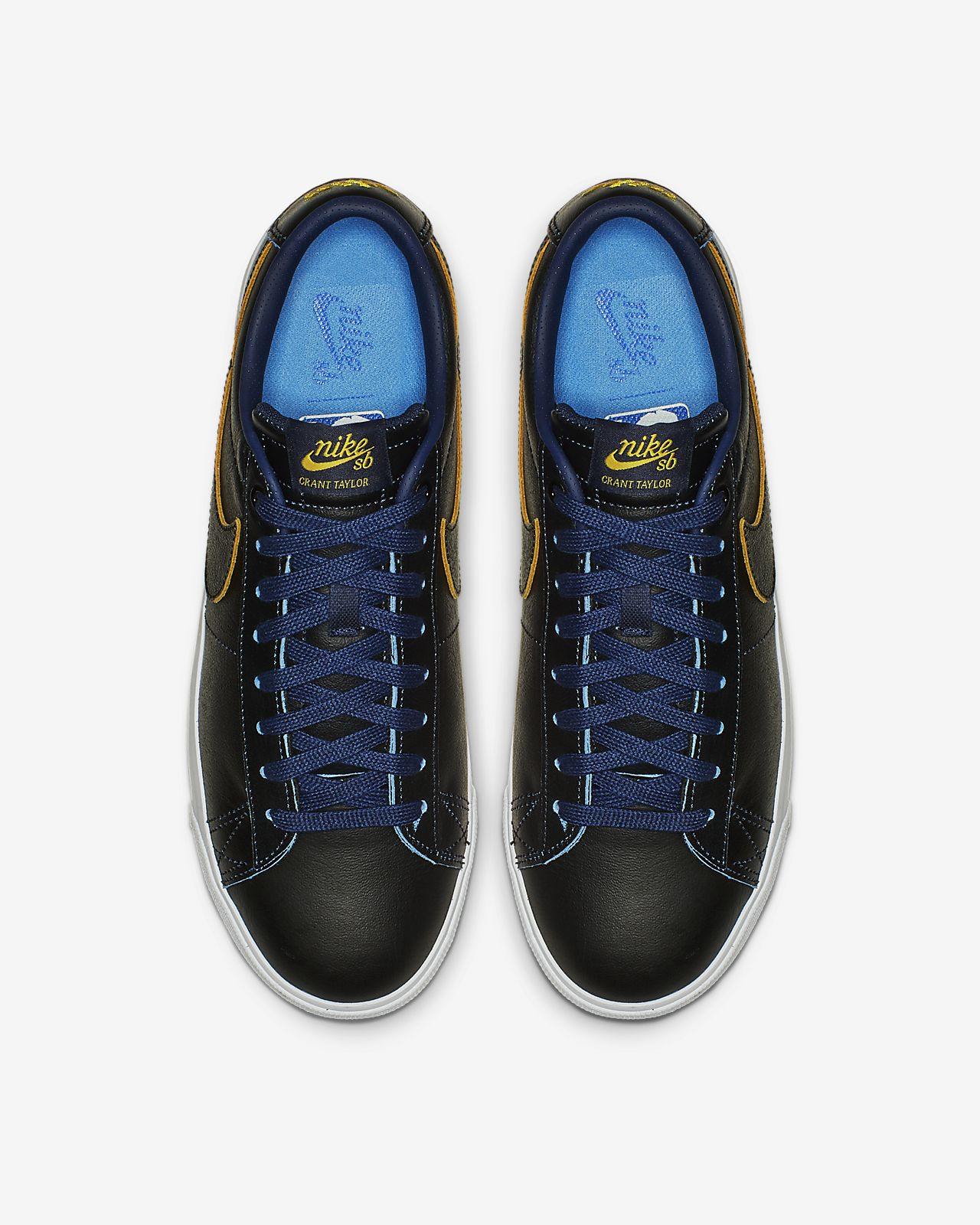 huge discount c60cf e6dc6 ... Nike SB Blazer Low GT NBA Men s Skate Shoe