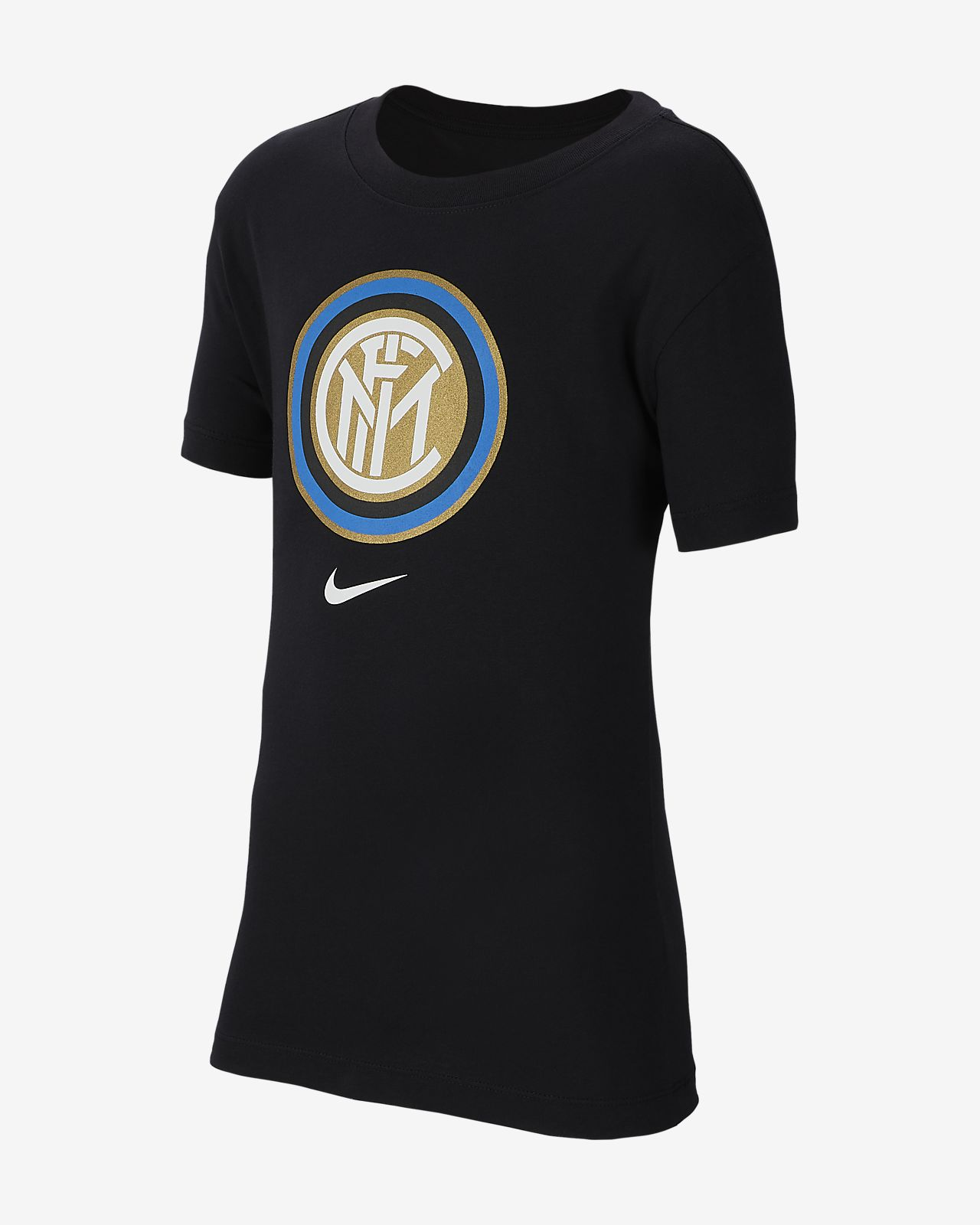 Inter Milan fotball-T-skjorte for store barn