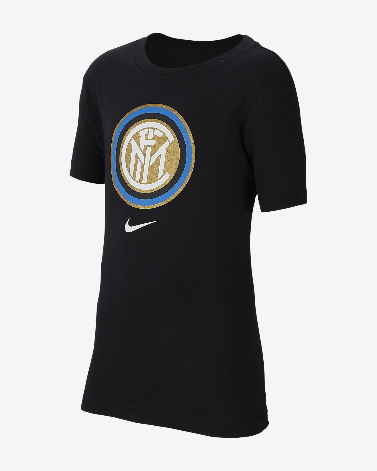 Playera de fútbol para niños talla grande Inter de Milán
