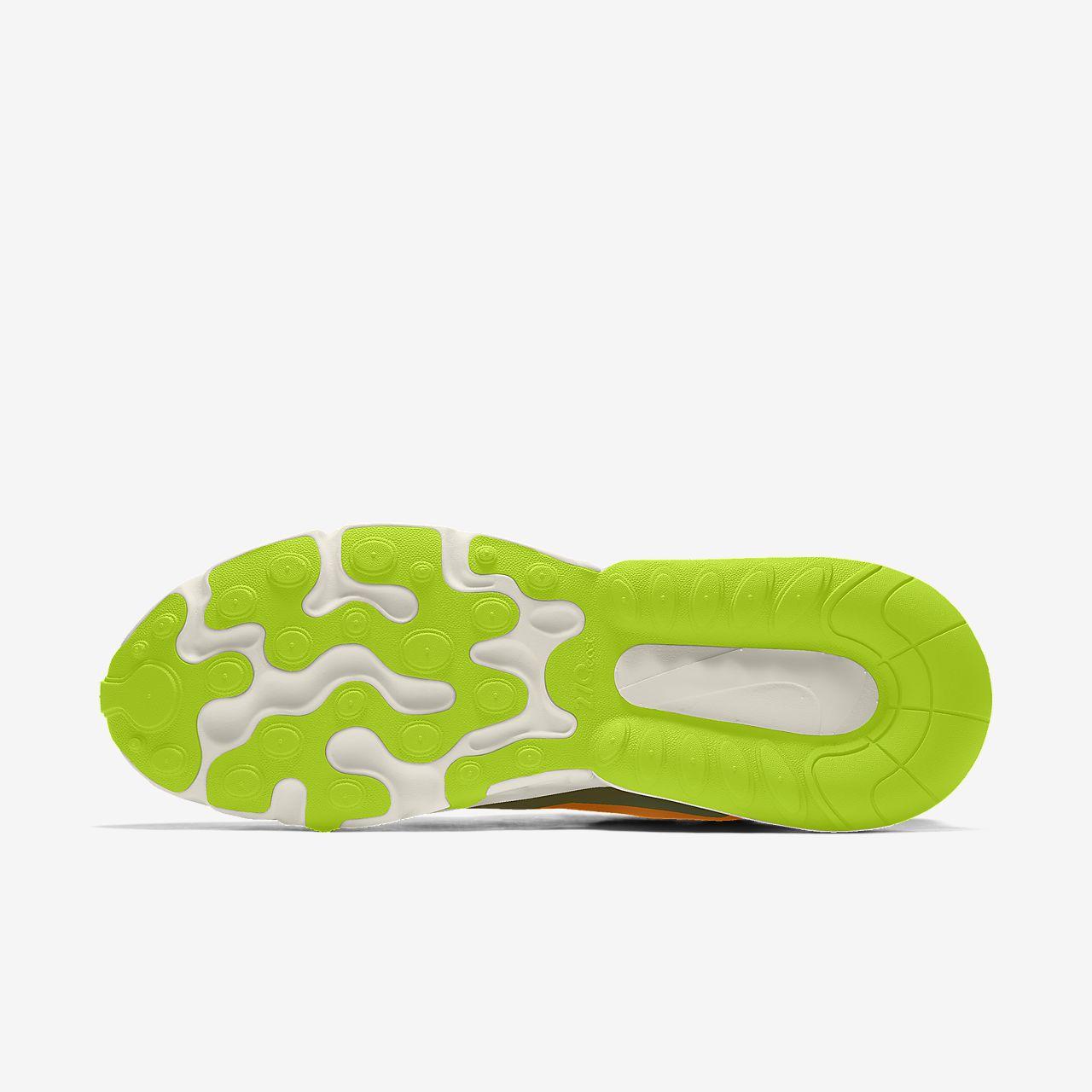 Nike Air Max 270 React By You Custom Shoe