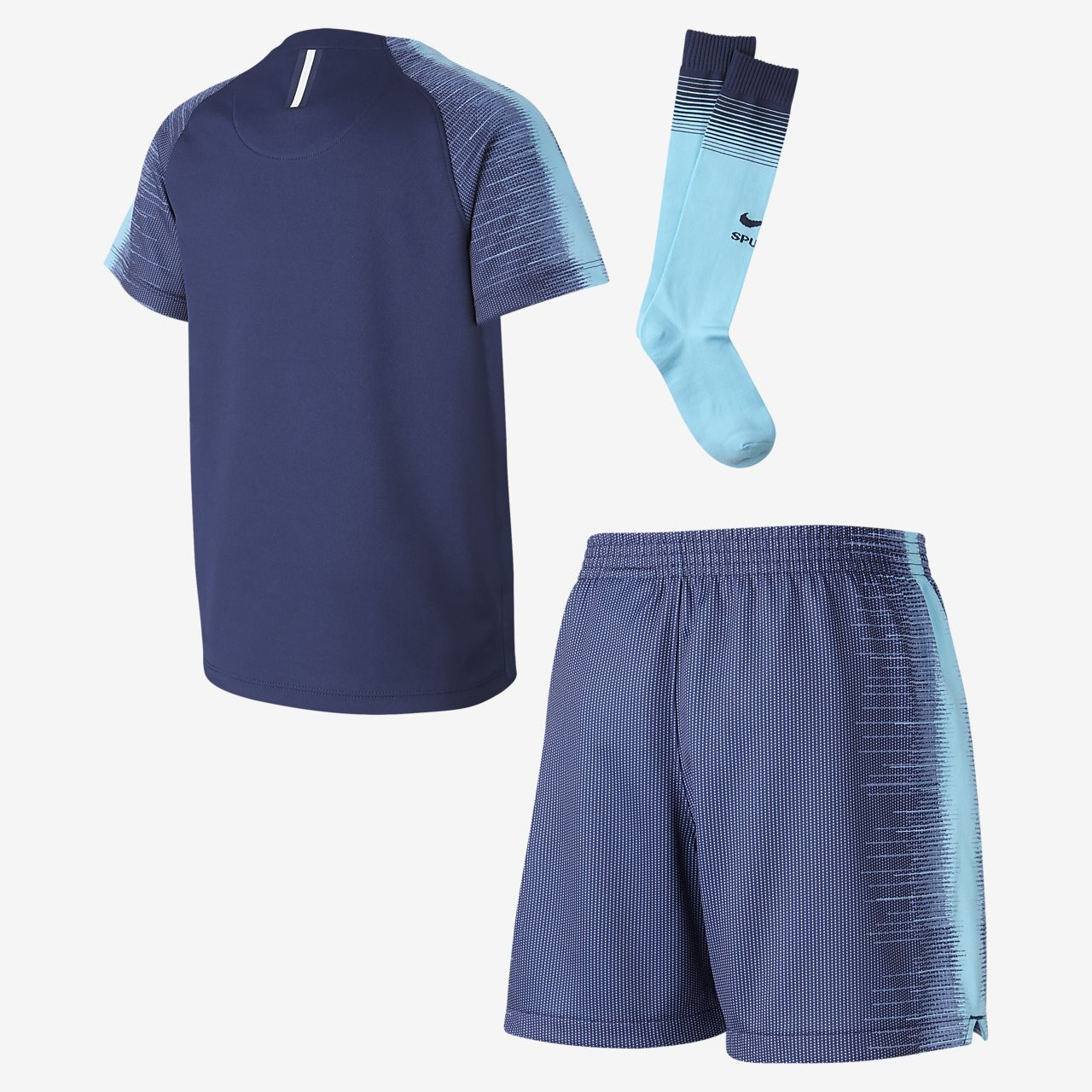 ... Kit de fútbol para niños talla pequeña 2018 19 Tottenham Hotspur  Stadium Away ef97c003042ed
