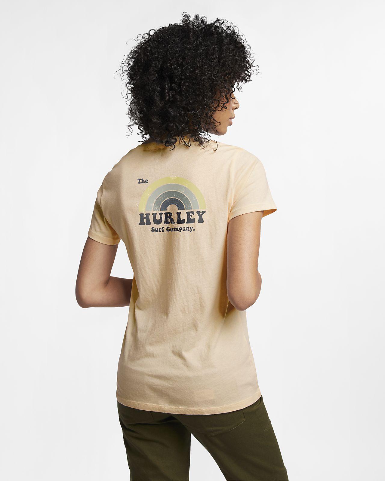 Camisola com gola em V Hurley Surfbow Perfect para mulher