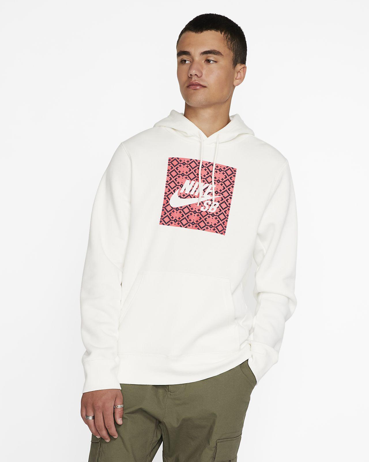 Ανδρική μπλούζα skateboarding με κουκούλα Nike SB