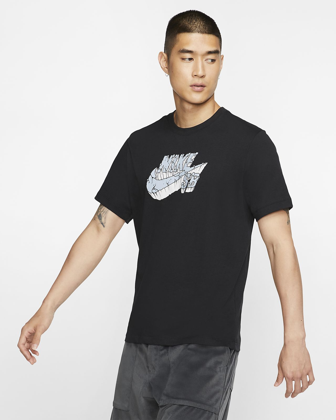 Nike SB 男款標誌滑板 T 恤