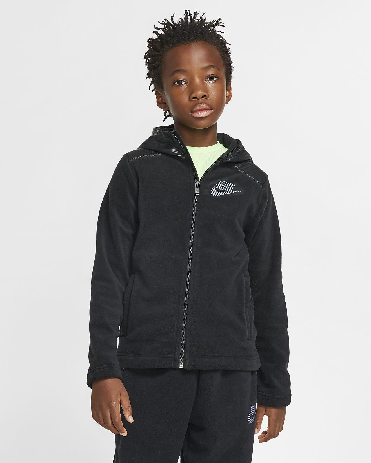 Nike Sportswear Winterized Big Kids' (Boys') Full Zip Hoodie