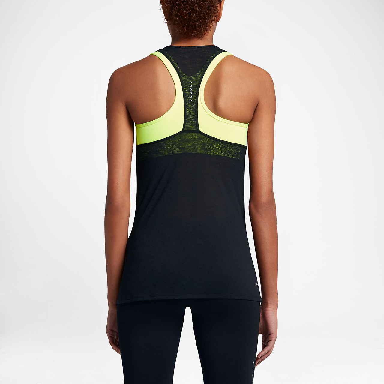 Nike Breathe Cool Women's Running Tank Tops Black