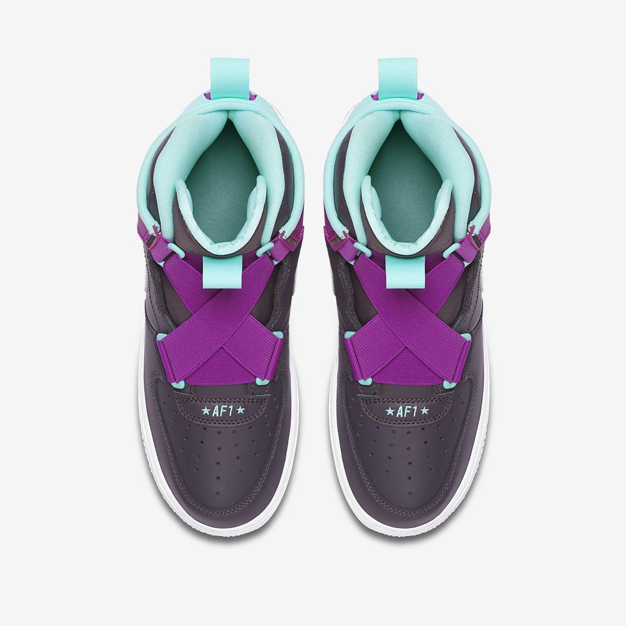 nike air force 1 femme violettes