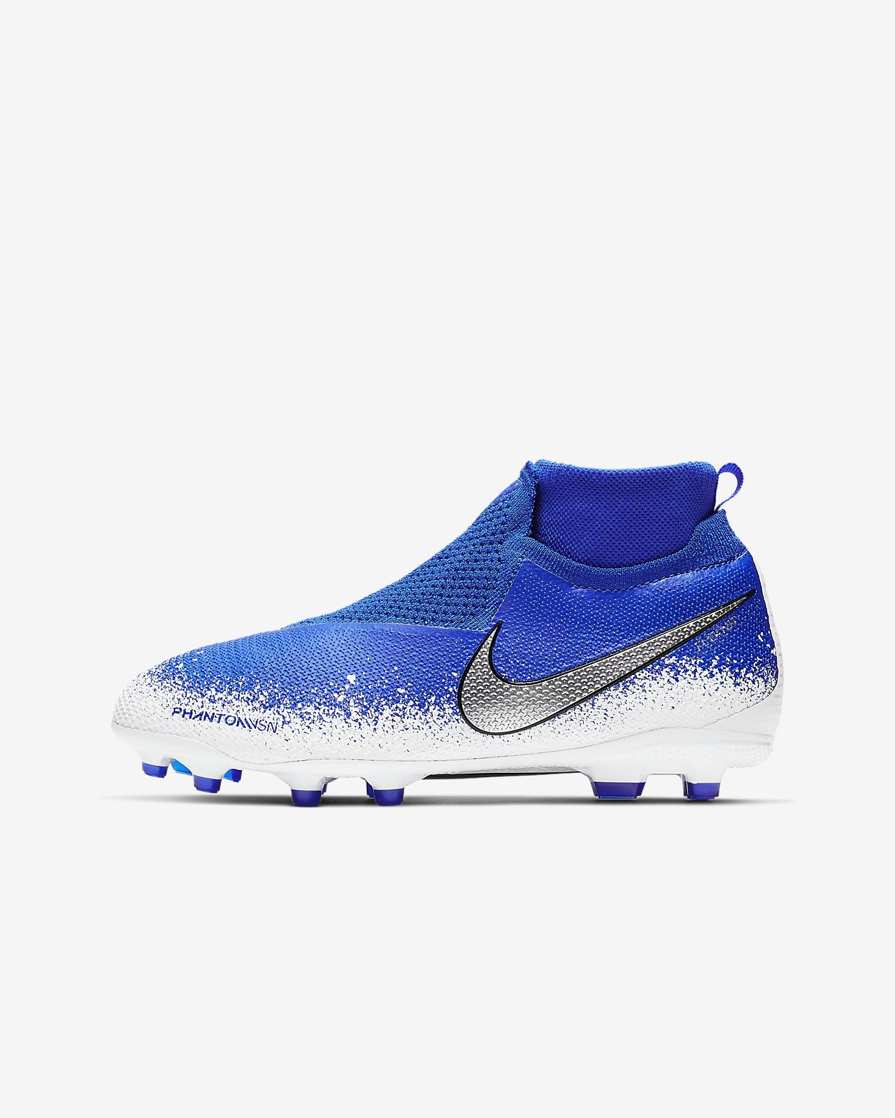 Футбольные бутсы для игры на разных покрытиях для школьников Nike Jr. Phantom Vision Elite Dynamic Fit MG