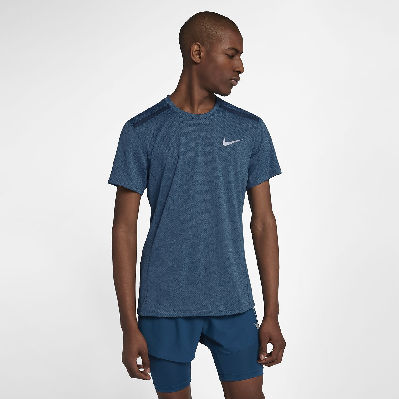 f6289a775abe2 Nike Dri-FIT Miler Cool Men s Short-Sleeve Running Top. Nike.com AU