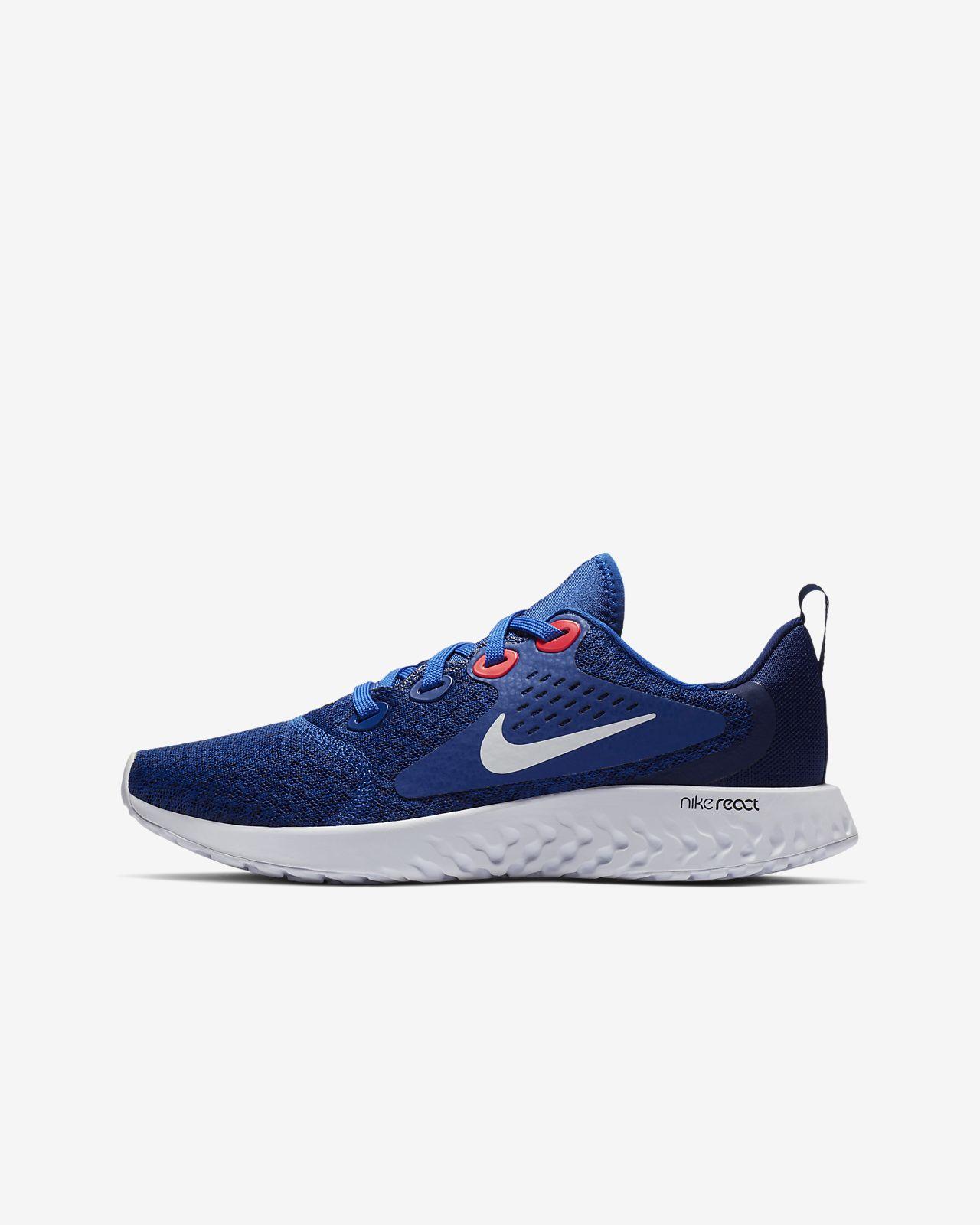 Nike Legend React-løbesko til store børn