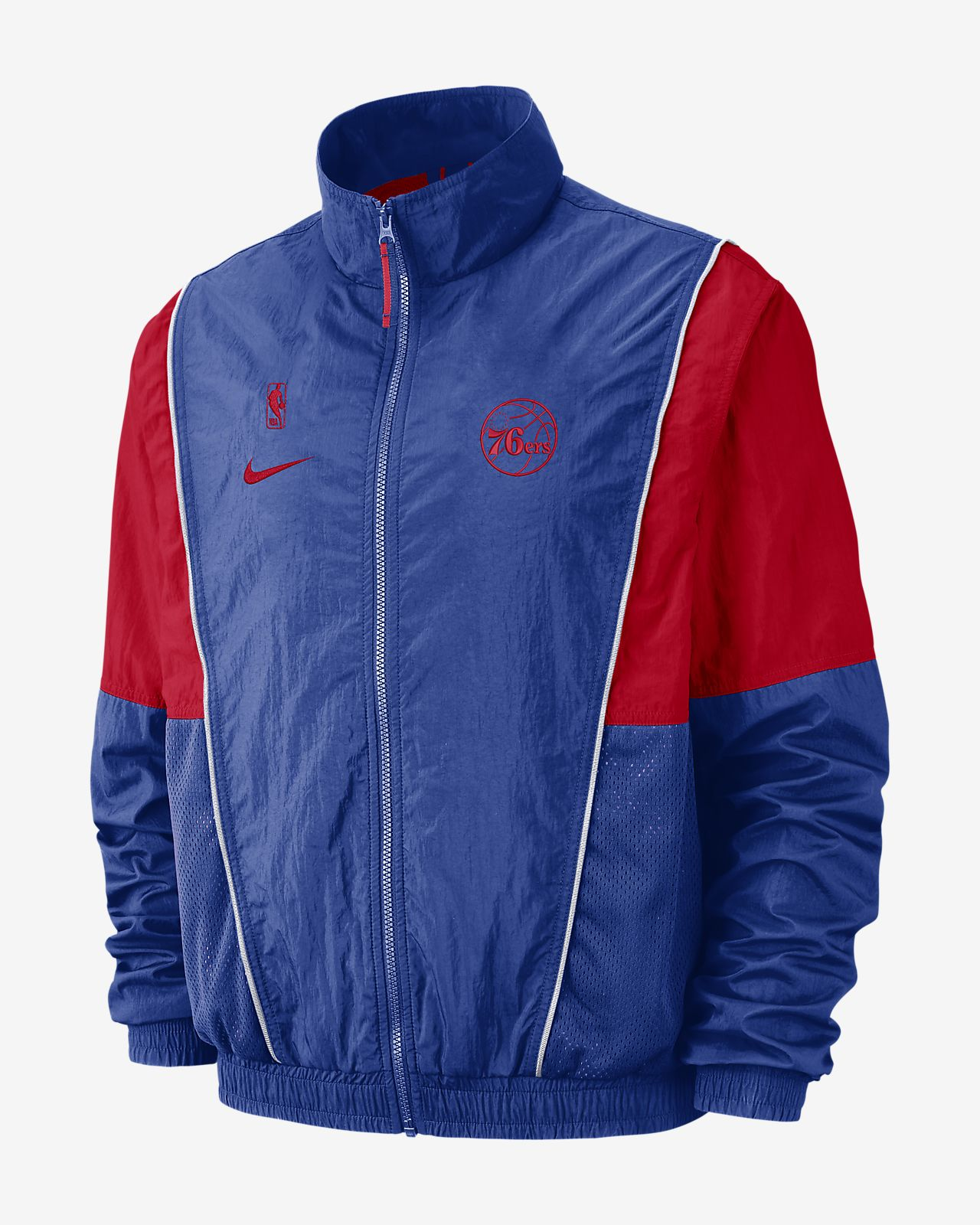 a3cd5913f18 Philadelphia 76ers Nike Men's NBA Tracksuit Jacket. Nike.com