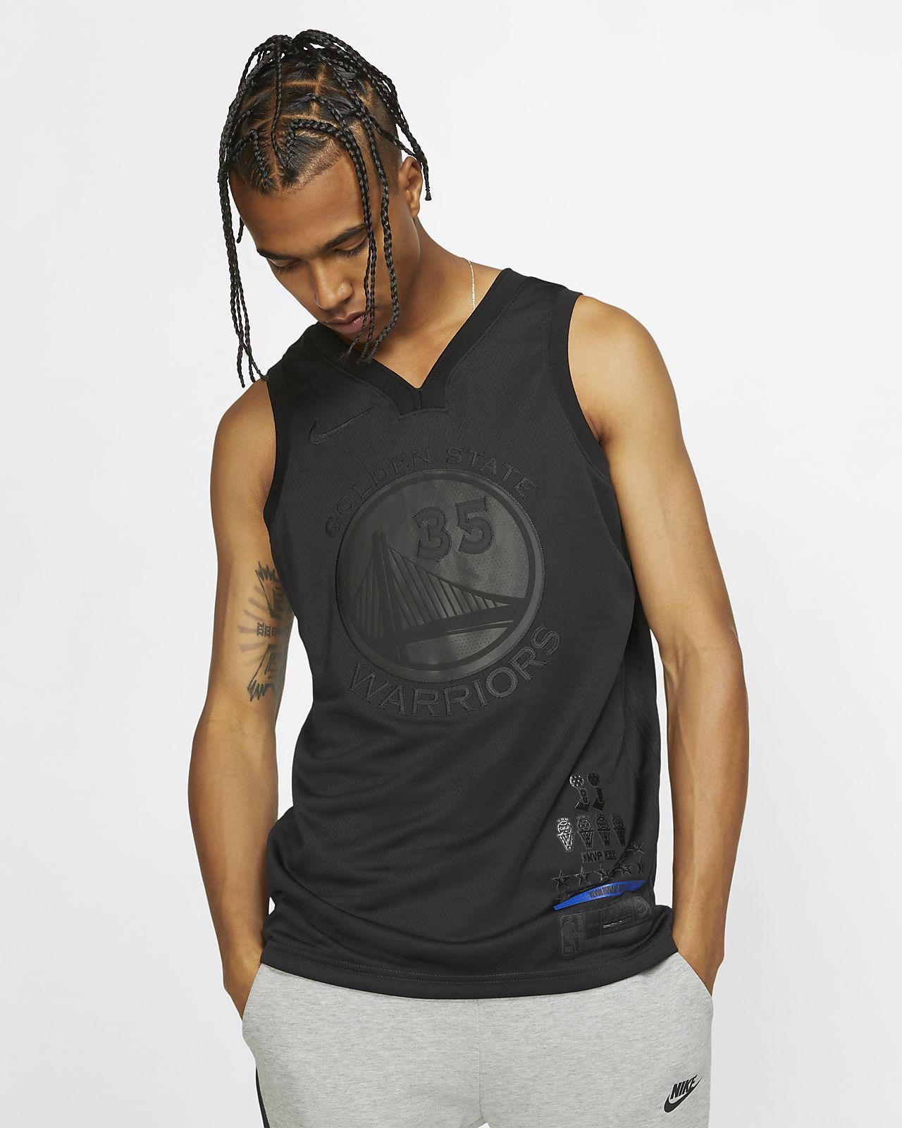 Мужское джерси Nike НБА Kevin Durant MVP Swingman (Golden State Warriors) с технологией NikeConnect