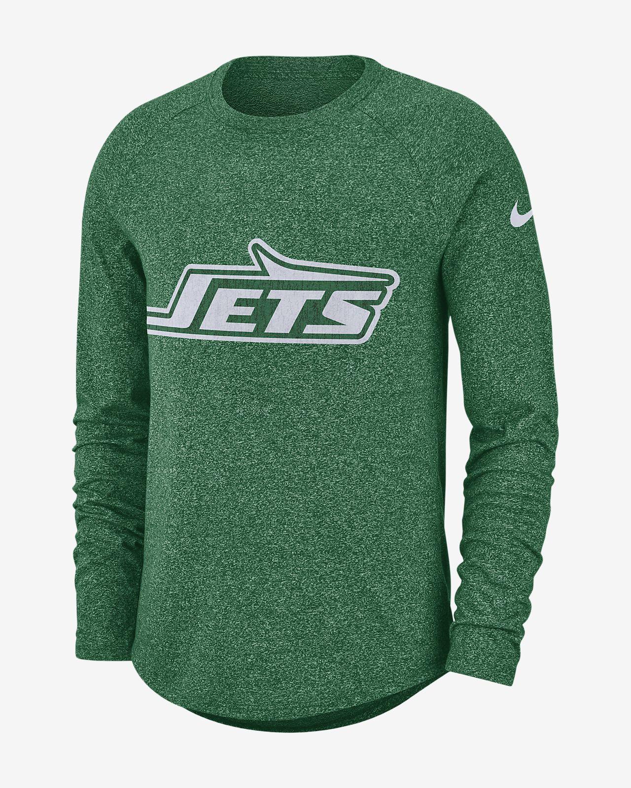Nike Historic (NFL Jets) Men's Long-Sleeve T-Shirt