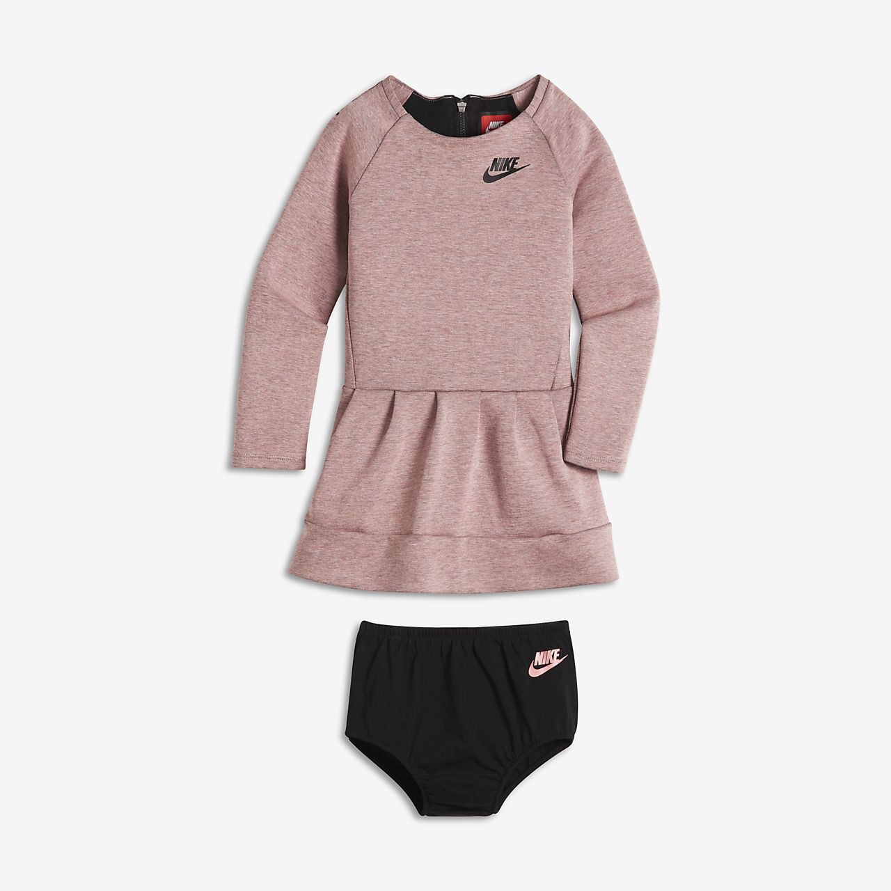 Nike Tech Fleece – pigekjole til babyer/små børn