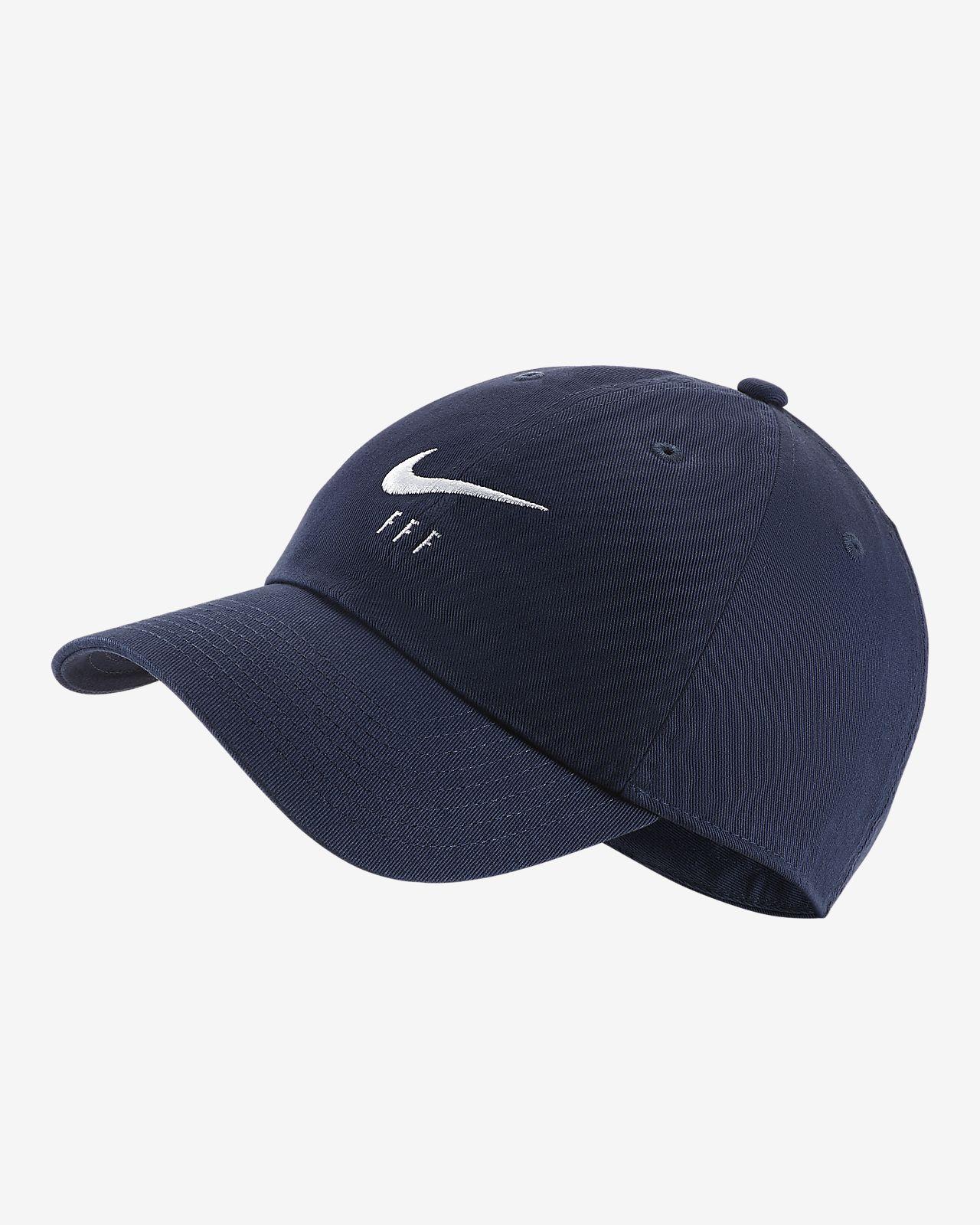 Cappello regolabile da calcio FFF Heritage86