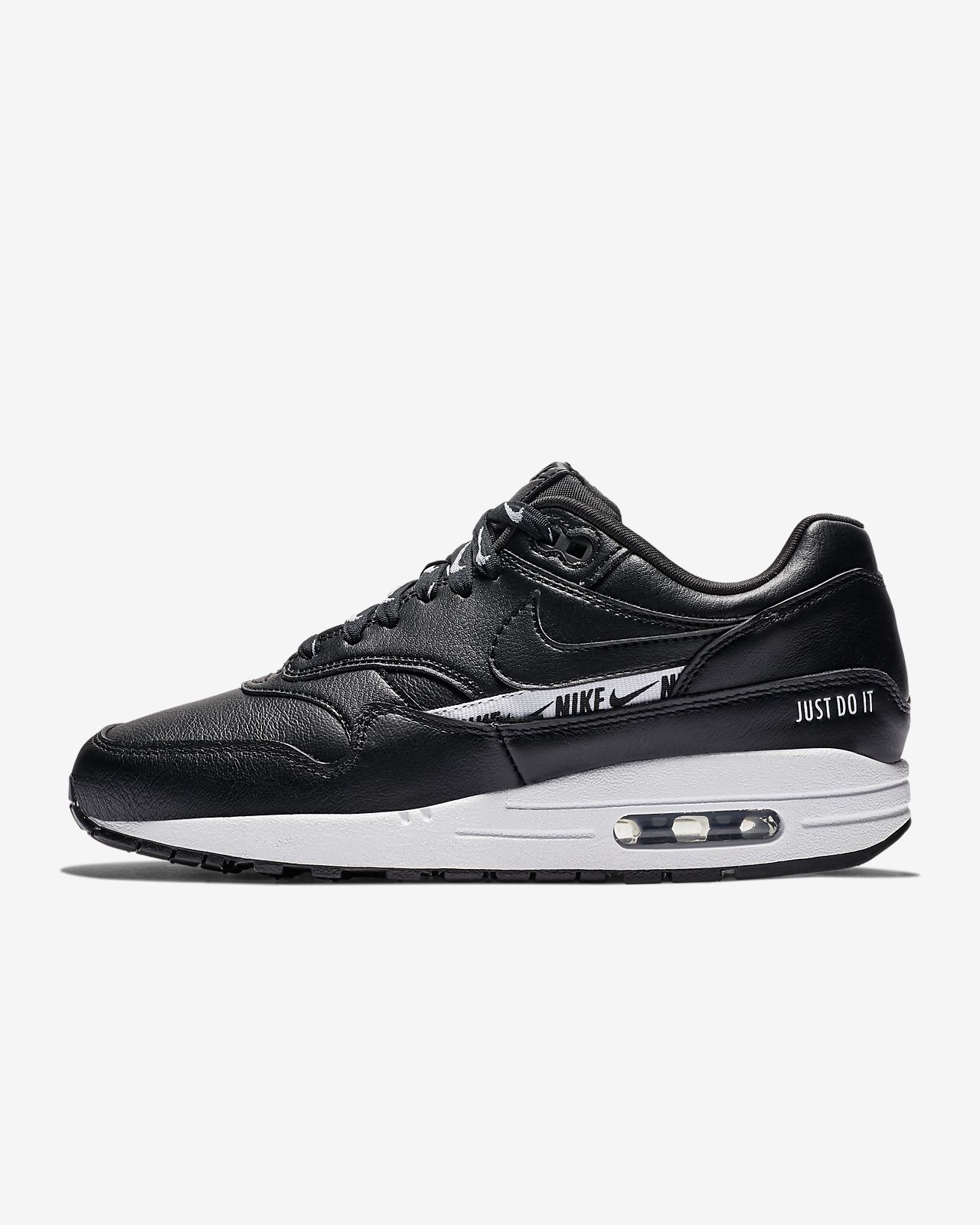 reputable site 7e747 72192 ... Nike Air Max 1 SE Overbranded Women s Shoe