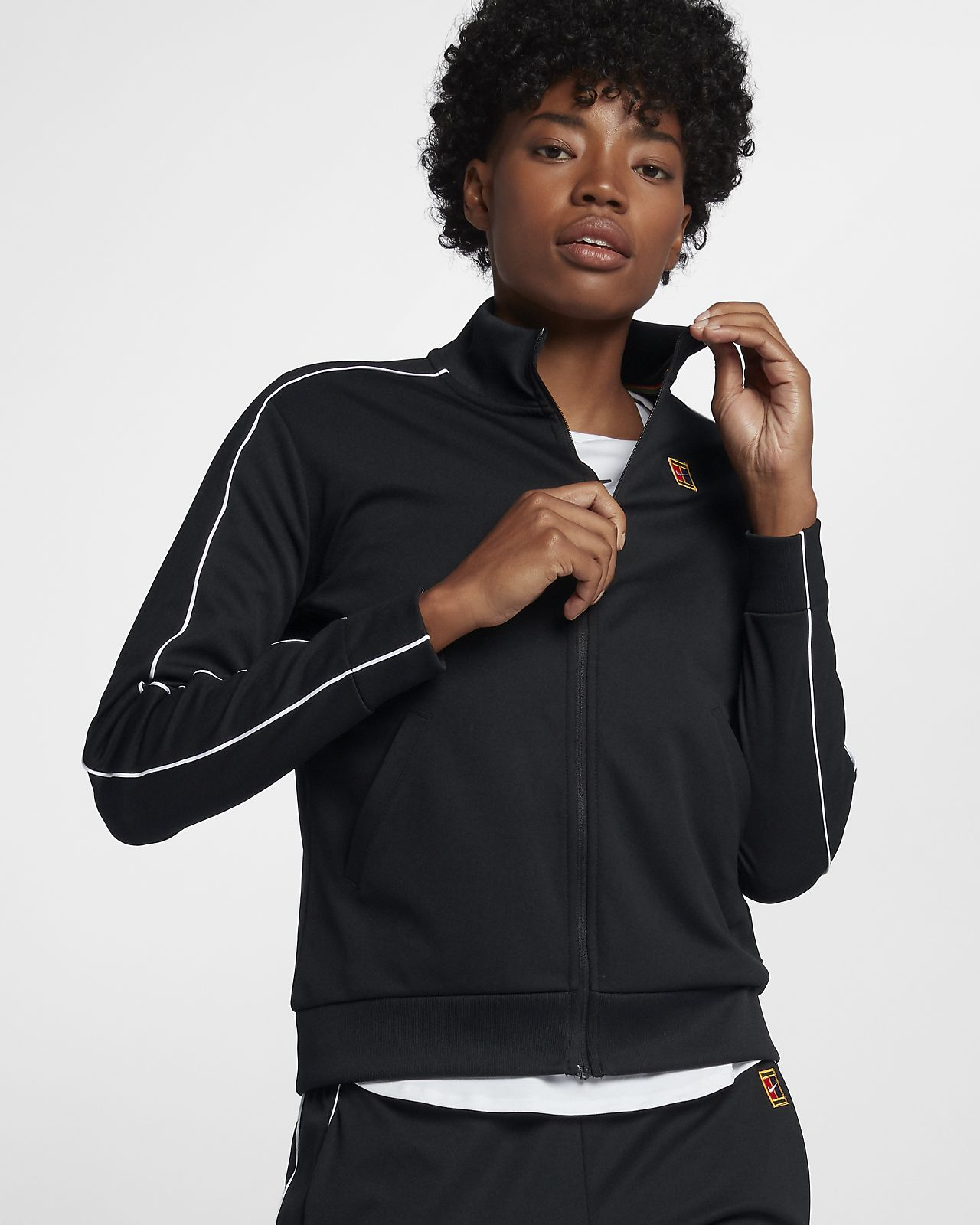 NikeCourt-tennisjakke for dame