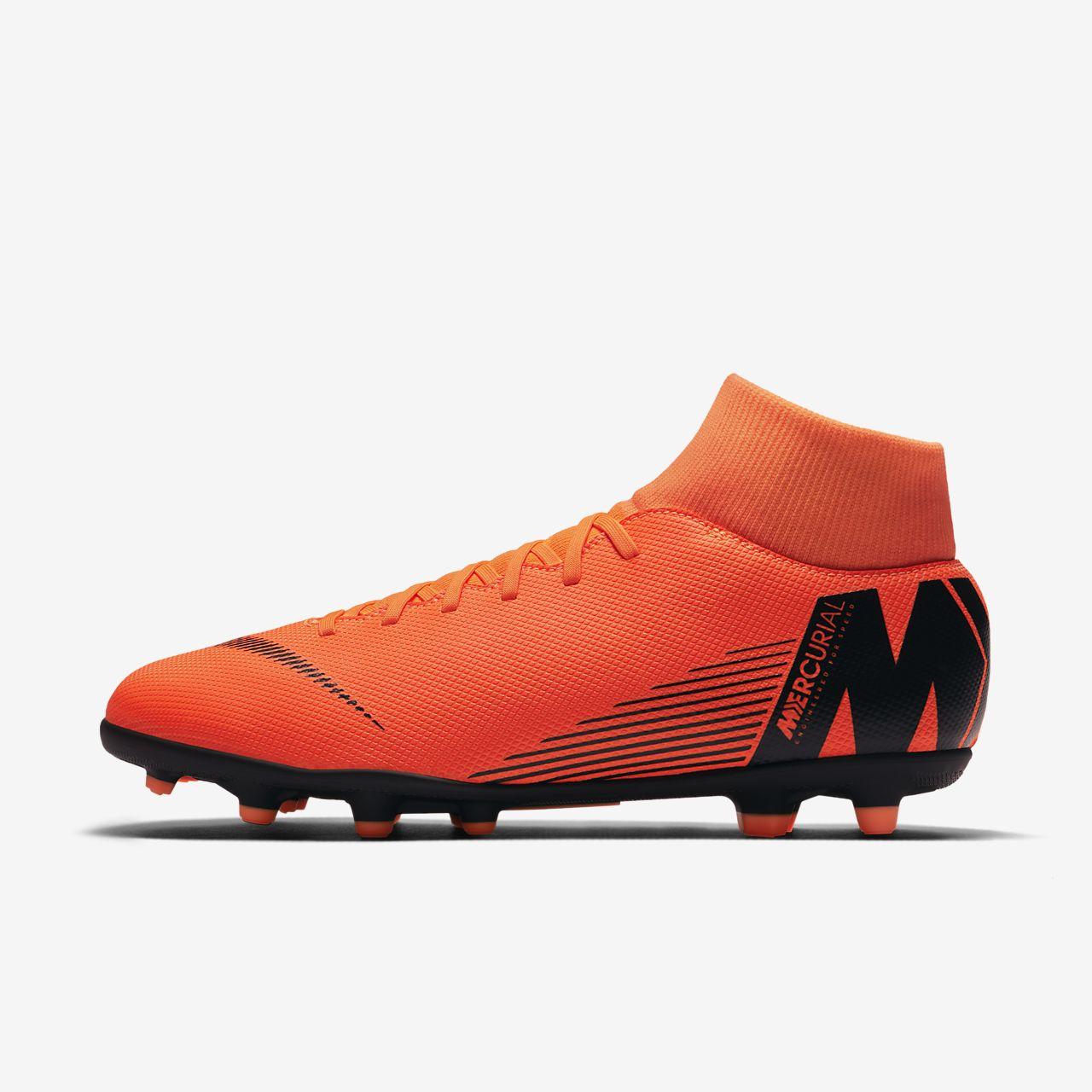 Nike Superfly 6 Académie Mg - Noir / Total Oranje-blanc, 41