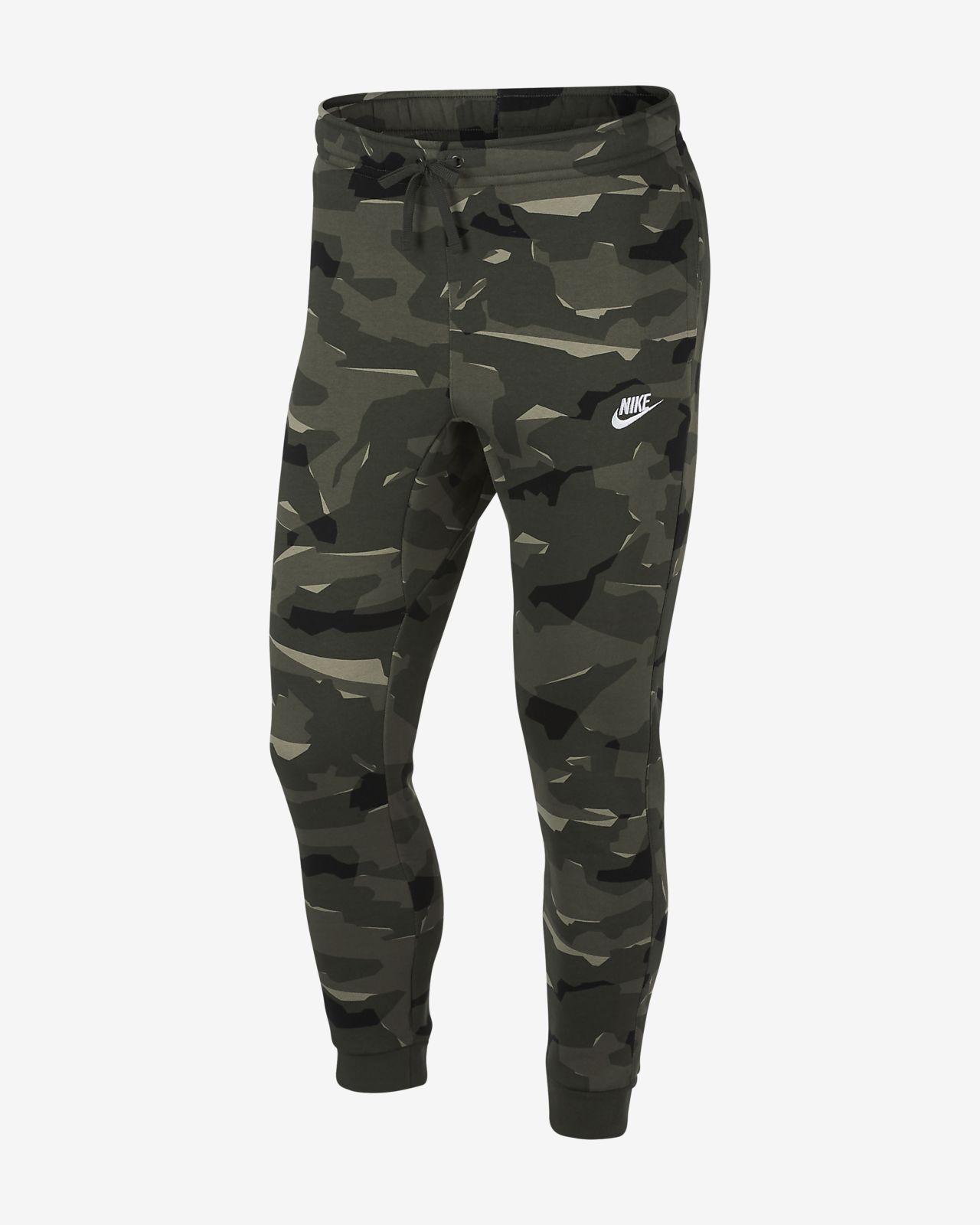Nike Sportswear Club Men's Camo Fleece Joggers