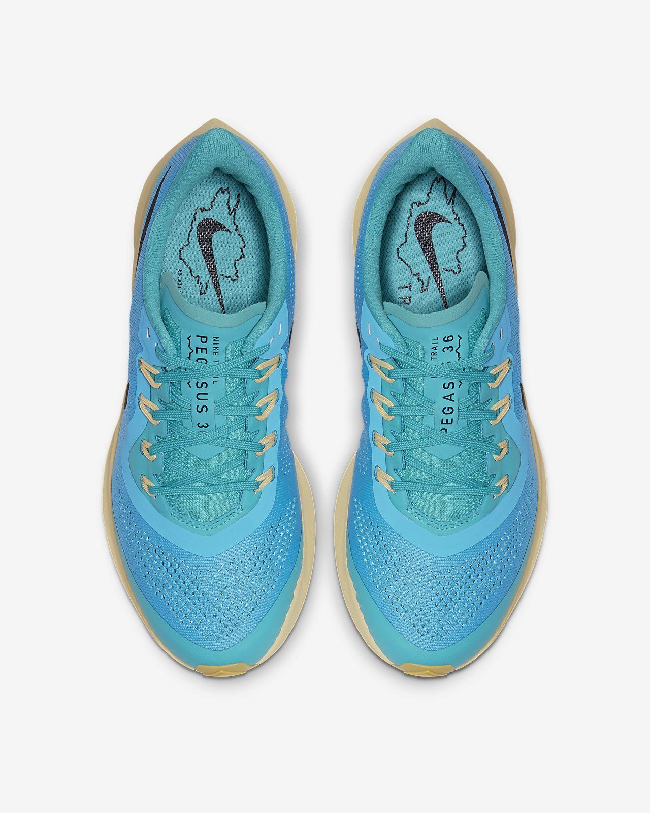 Scarpa da trail running Nike Air Zoom Pegasus 36 Trail GORE TEX Gold