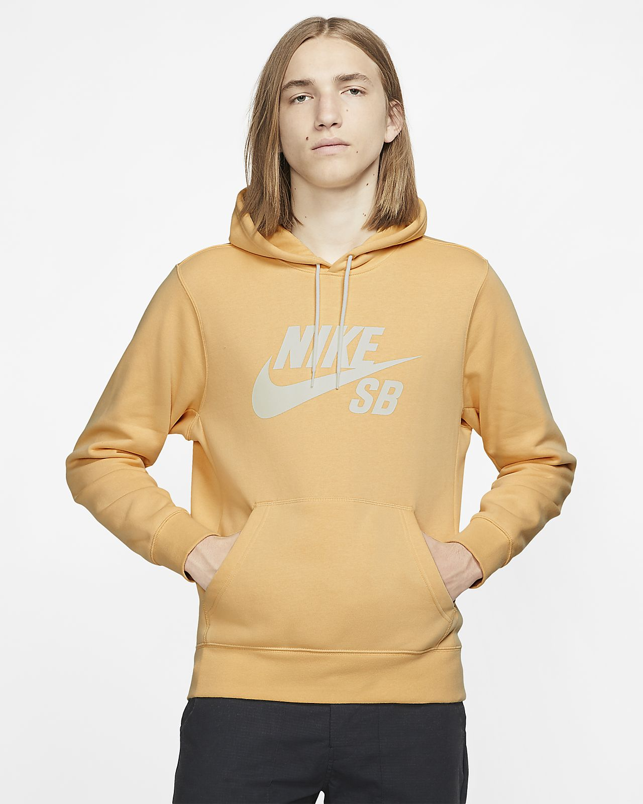 Nike SB Icon Kapüşonlu Kaykay Sweatshirt'ü