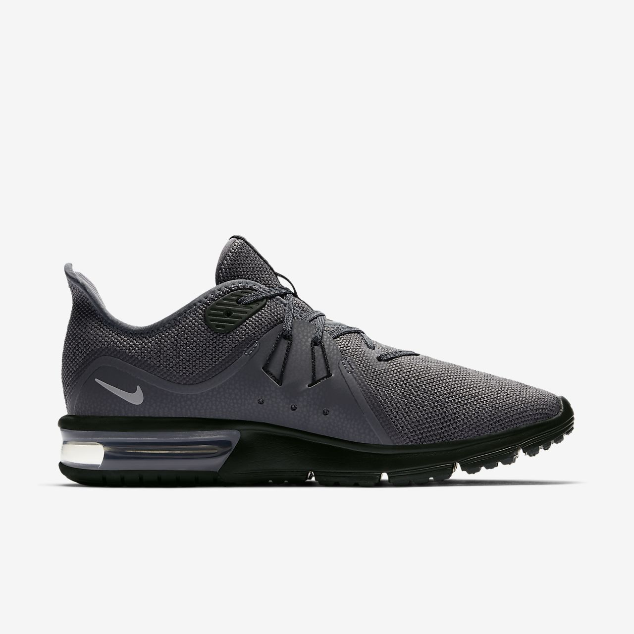 Cheap Nike Air Max Sequent White Black Running Shoes Shoes ZWRKEOOF