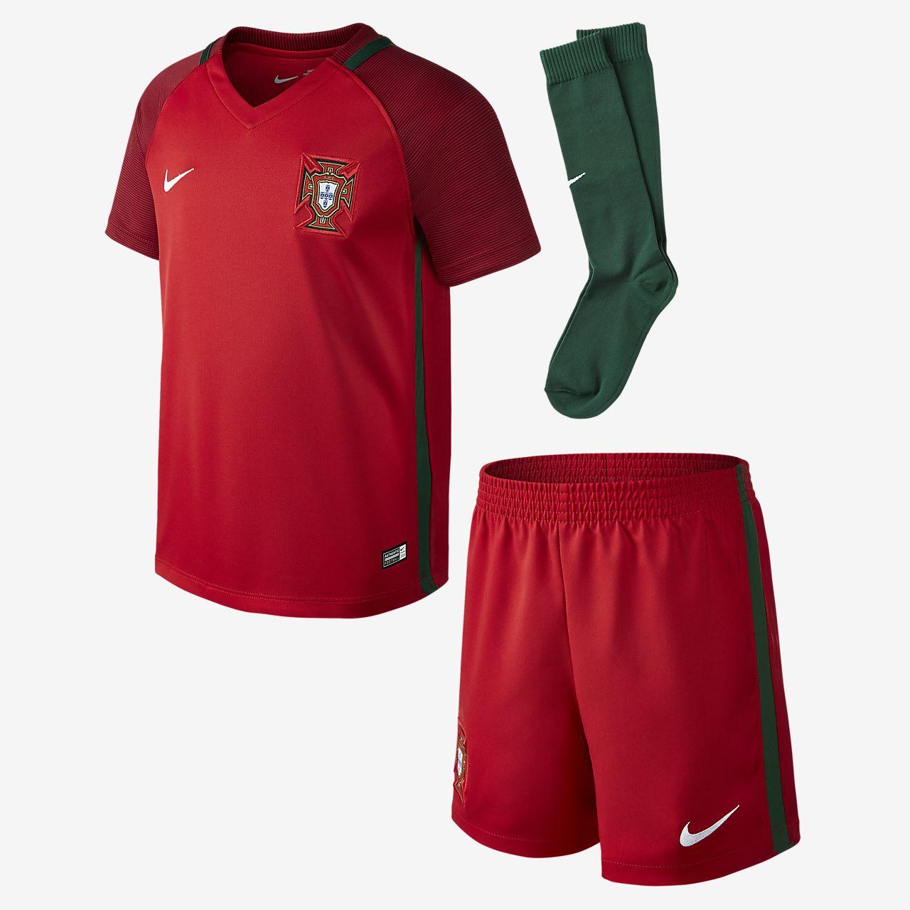 2016 赛季葡萄牙队主场幼童足球球迷套装