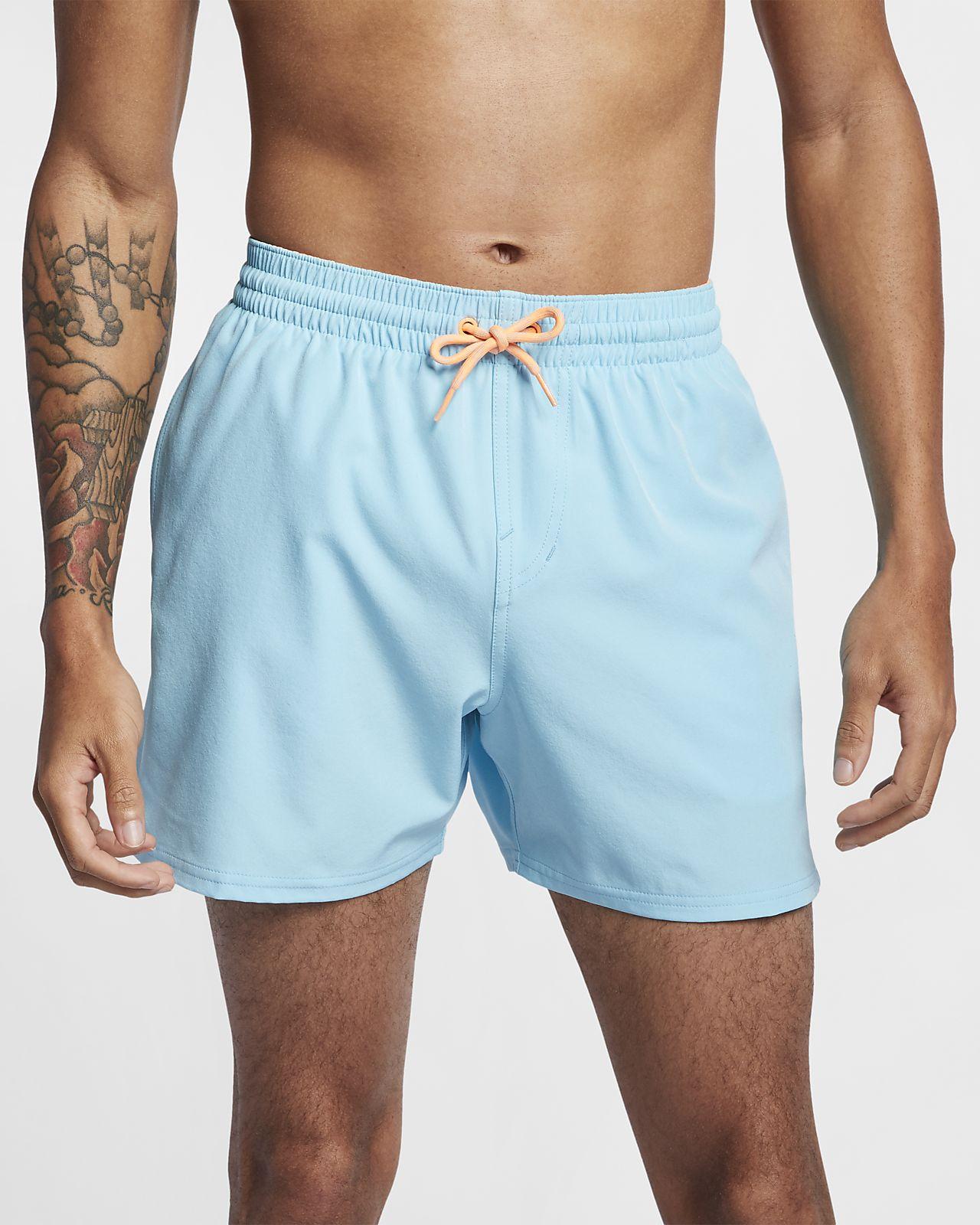 Nike Swim Retro Stripe Lap Herren-Badeshorts (ca. 13 cm)