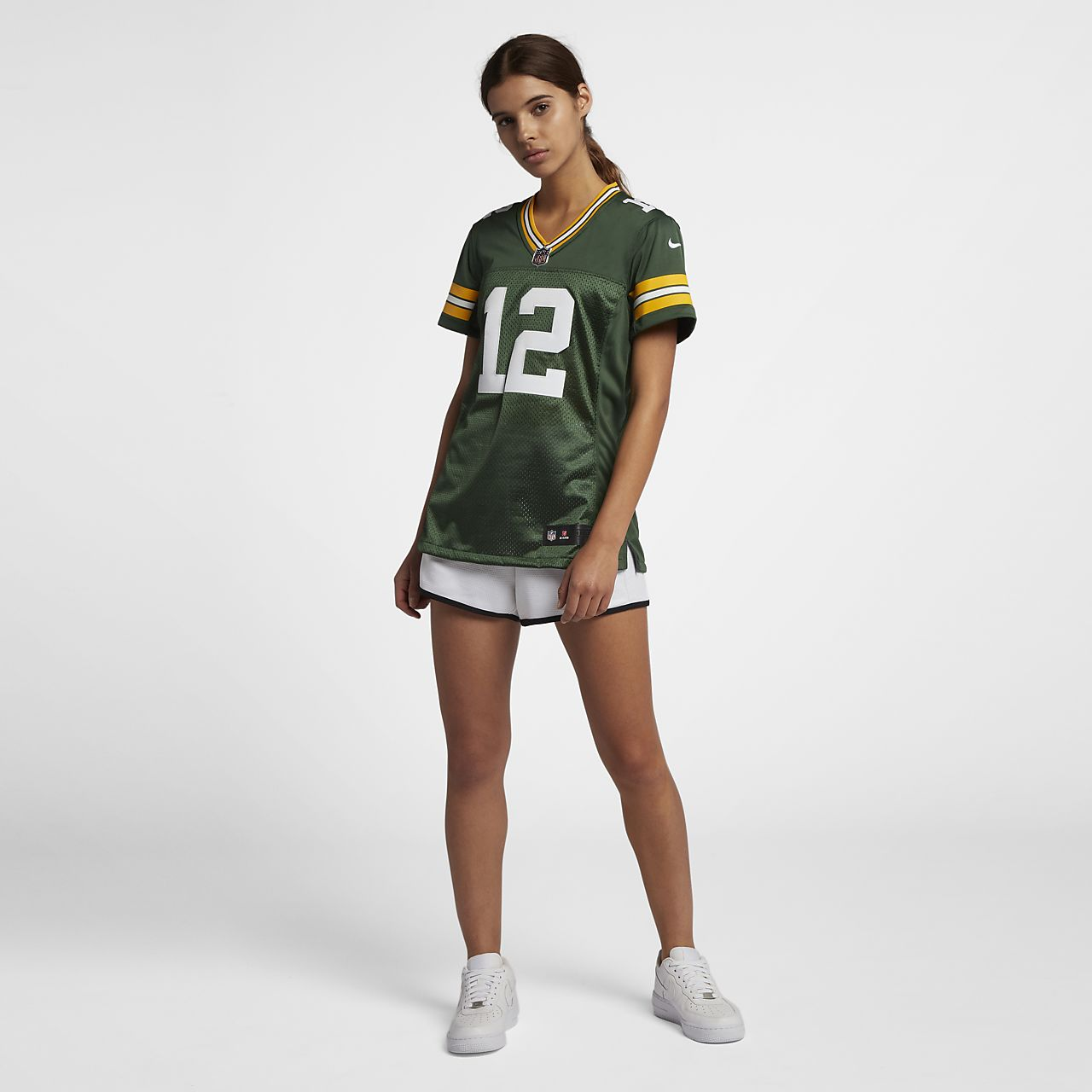 separation shoes 8f6db a4494 NFL Green Bay Packers Limited Classic (Aaron Rodgers) Women's Football  Jersey