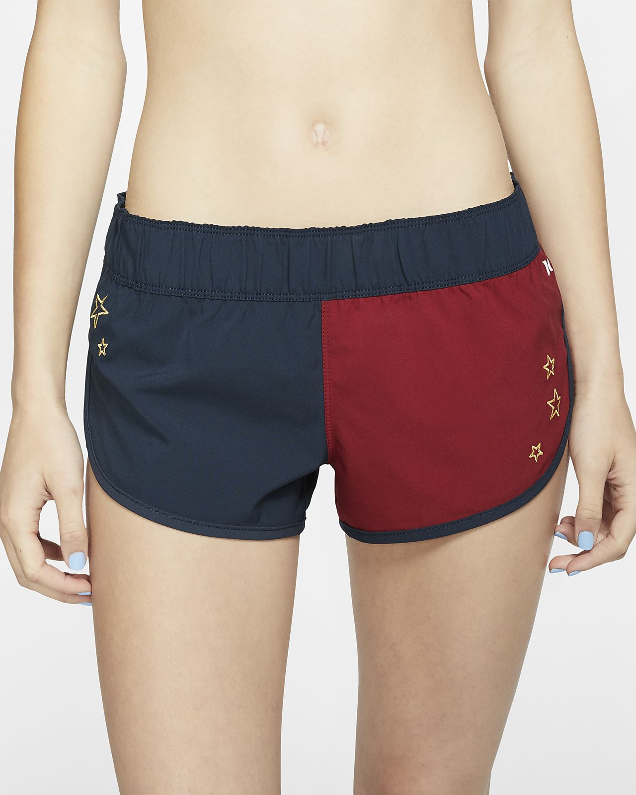 ff1e5f67c5 Hurley Supersuede Stars Beachrider Women's Board Shorts. Nike.com