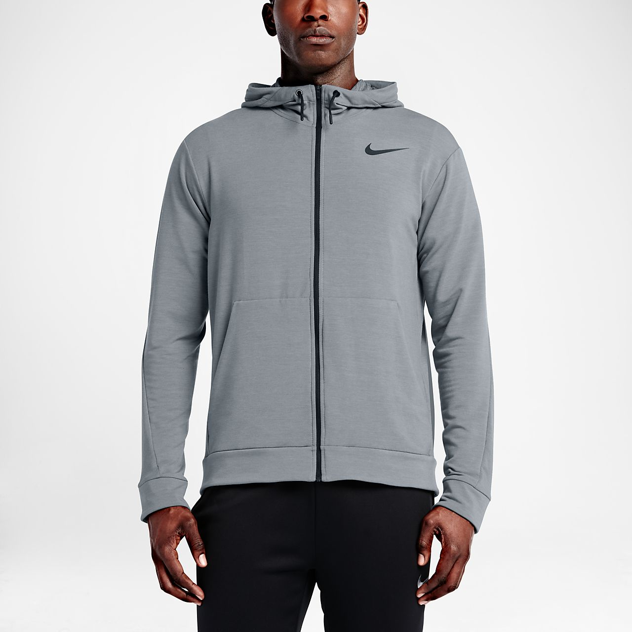 ... Nike Dri-FIT Men's Training Full-Zip Hoodie