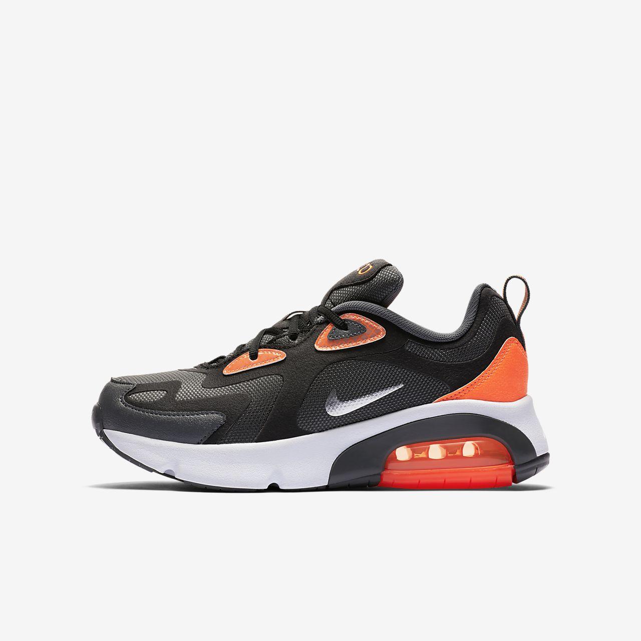 Nike Air Max Infinity gris et orange Chaussures Toutes les