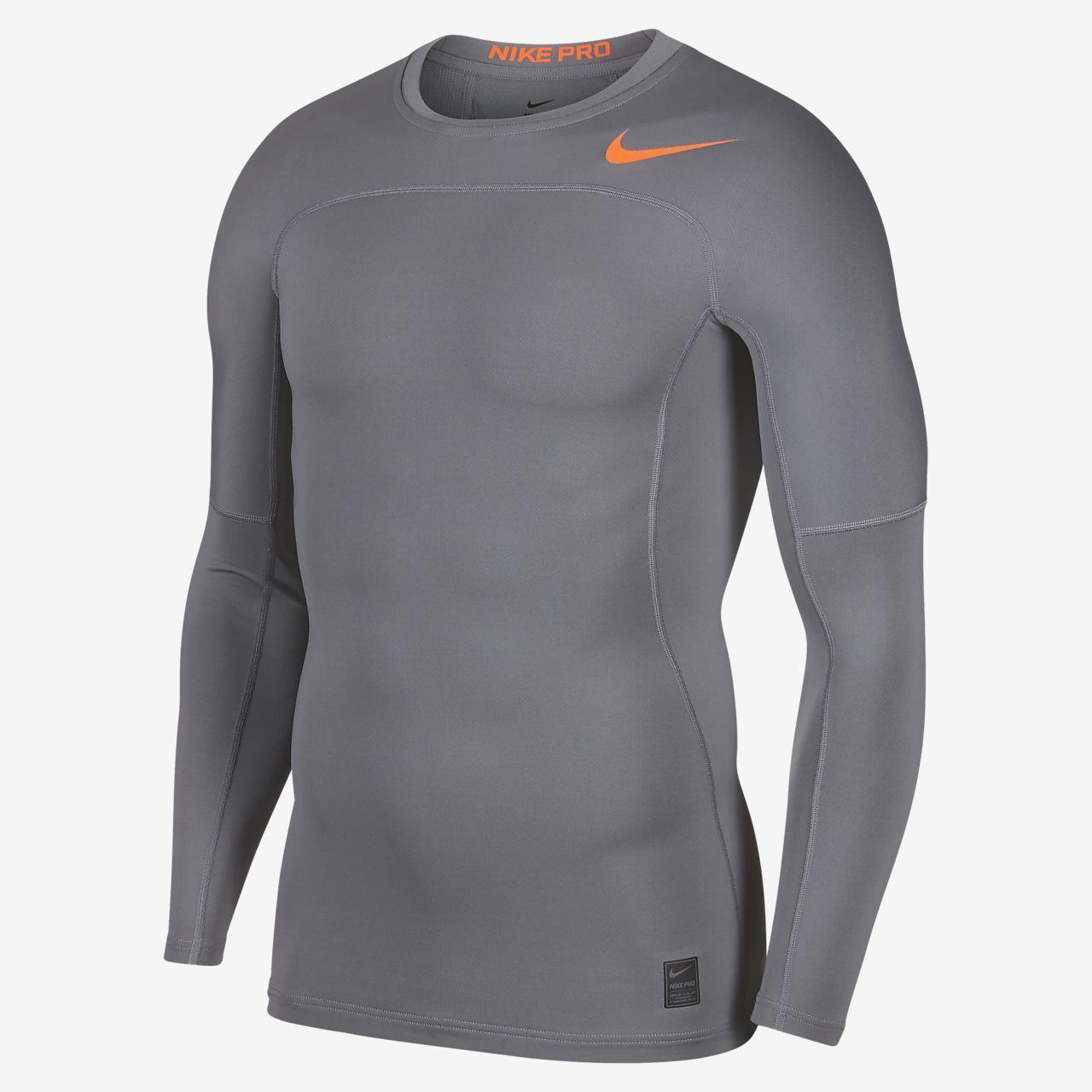 เสื้อเทรนนิ่งแขนยาวผู้ชาย Nike Pro HyperWarm