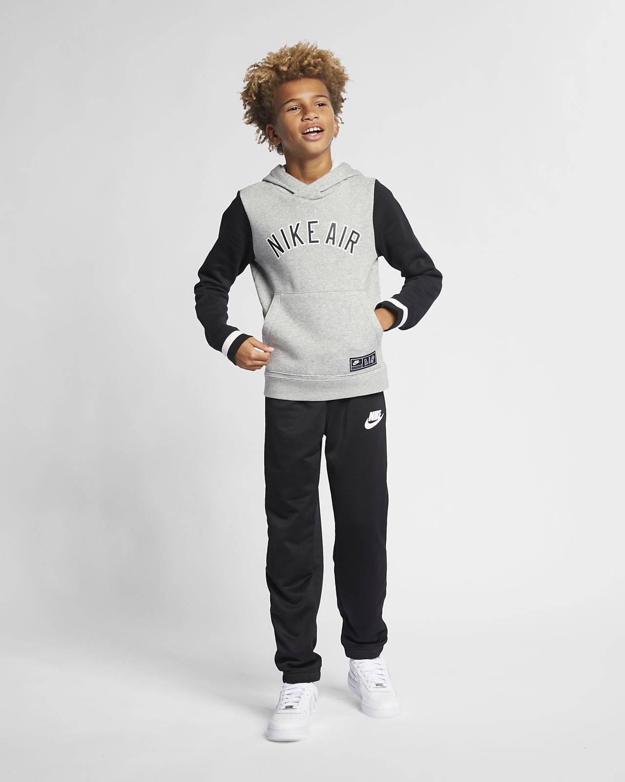 c2ac1dfd Nike Air Big Kids' Fleece Pullover Hoodie. Nike.com