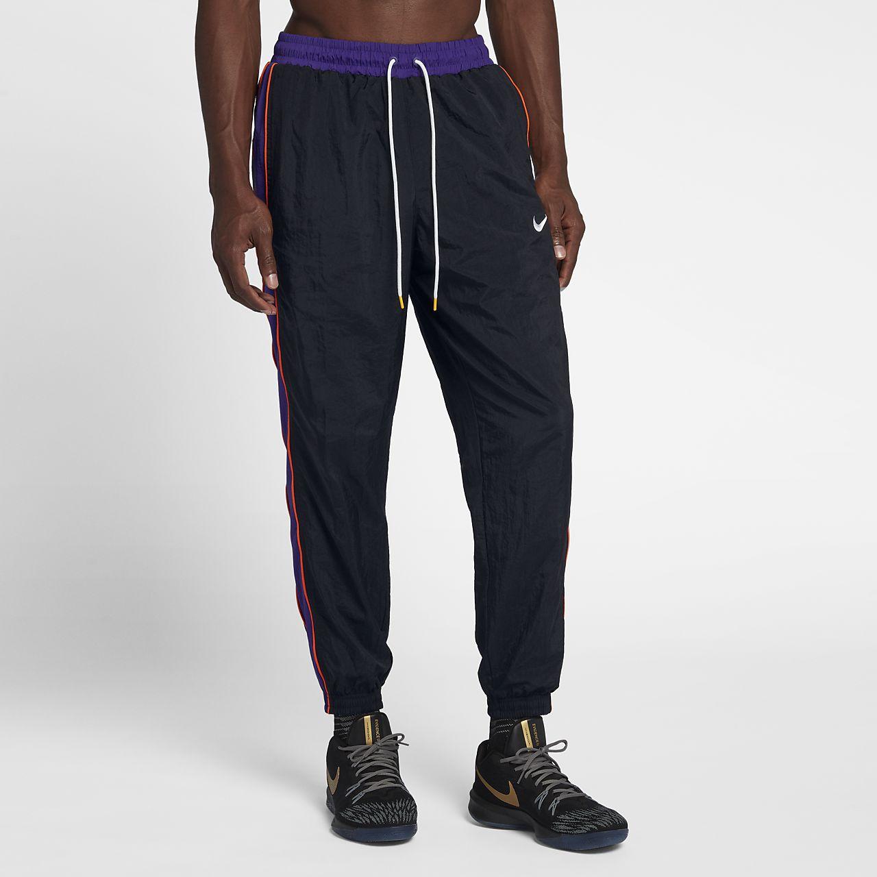 270e53bd660b Nike Throwback Men s Woven Tracksuit Basketball Pants. Nike.com