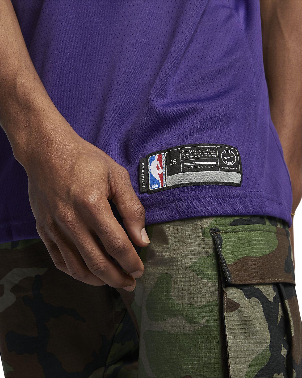 uk availability a6054 ca91f Devin Booker Icon Edition Swingman (Phoenix Suns) Men's Nike NBA Connected  Jersey