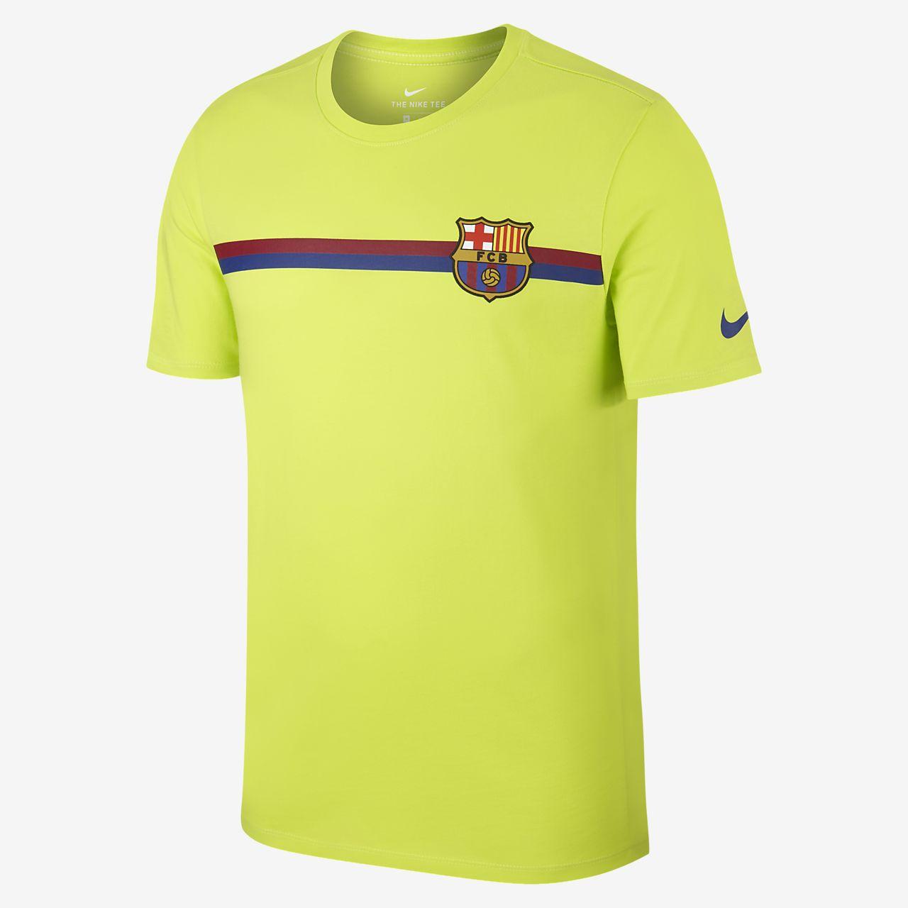 Playera para hombre FC Barcelona Crest