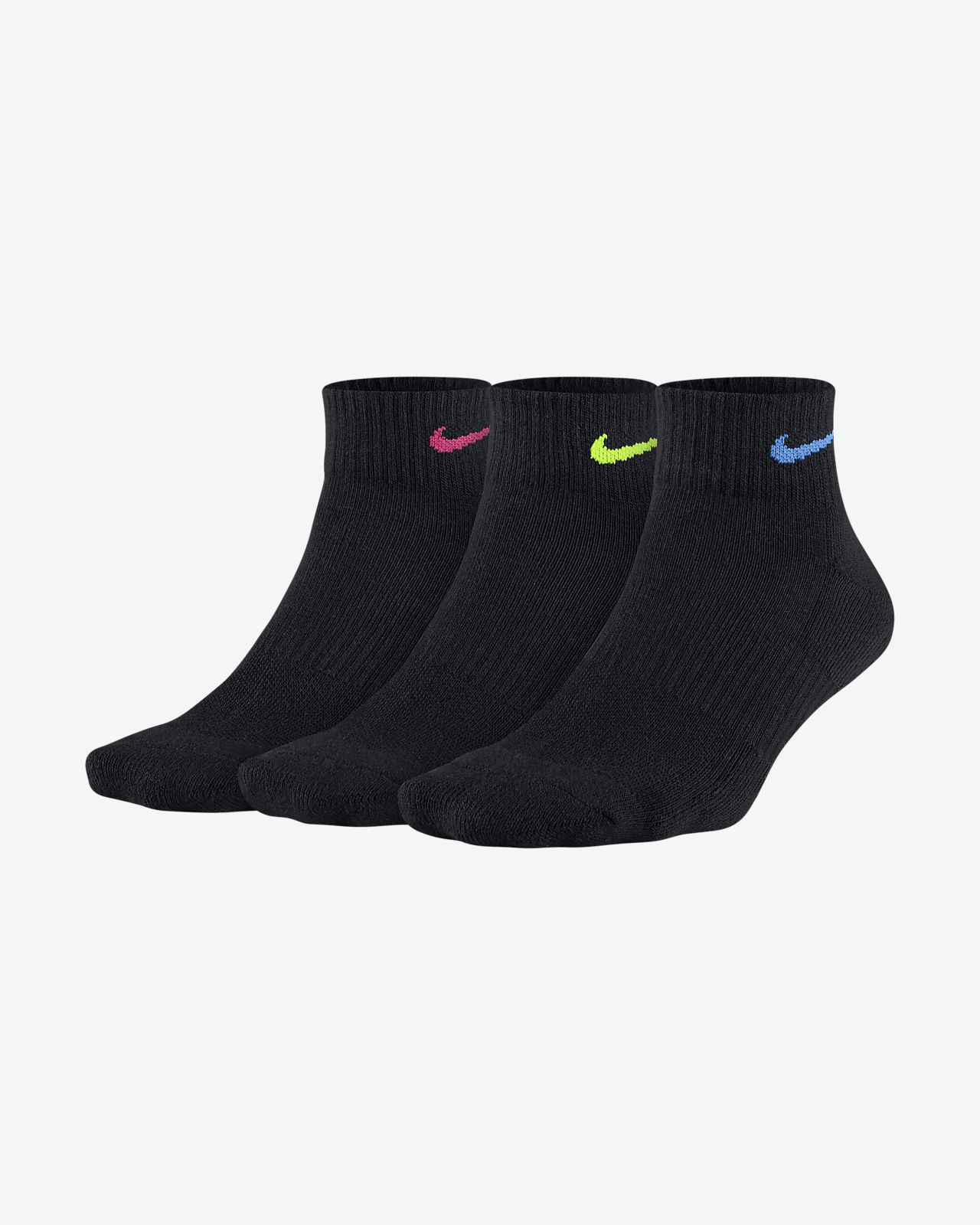 Nike Everyday Cushion Women's Training Ankle Socks (3 Pairs)