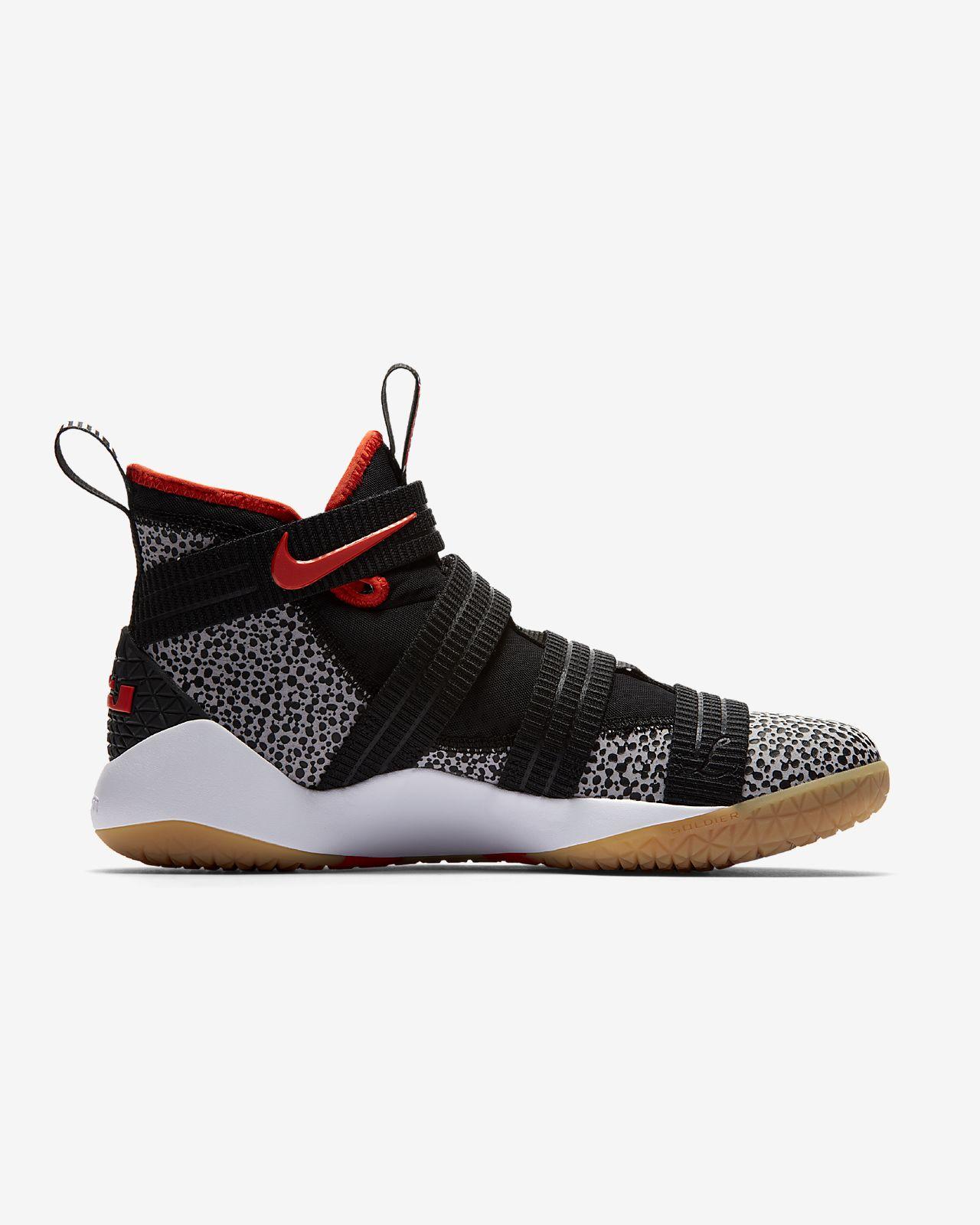 ... LeBron Soldier XI SFG Basketball Shoe