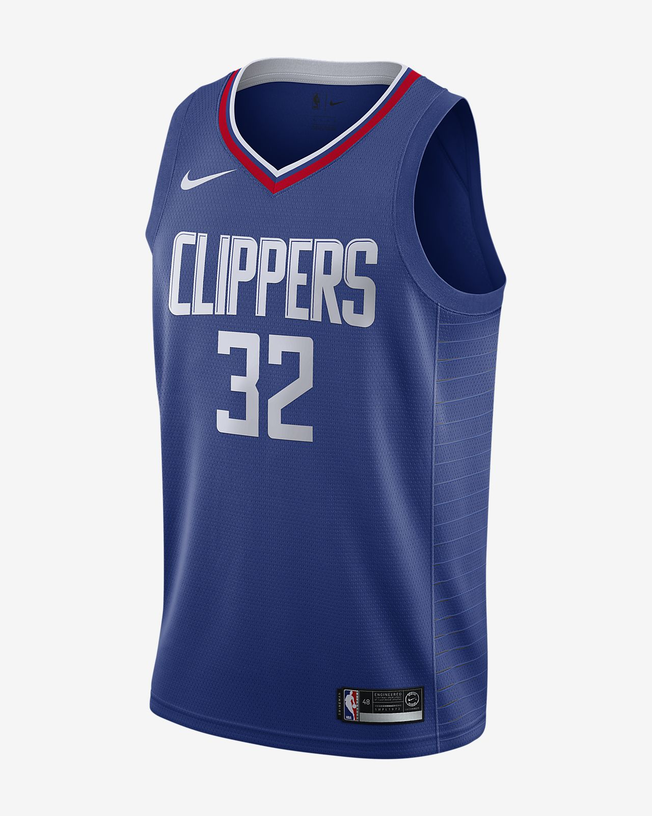 Blake Griffin Icon Edition Swingman (LA Clippers) Nike NBA Connected Trikot für Herren