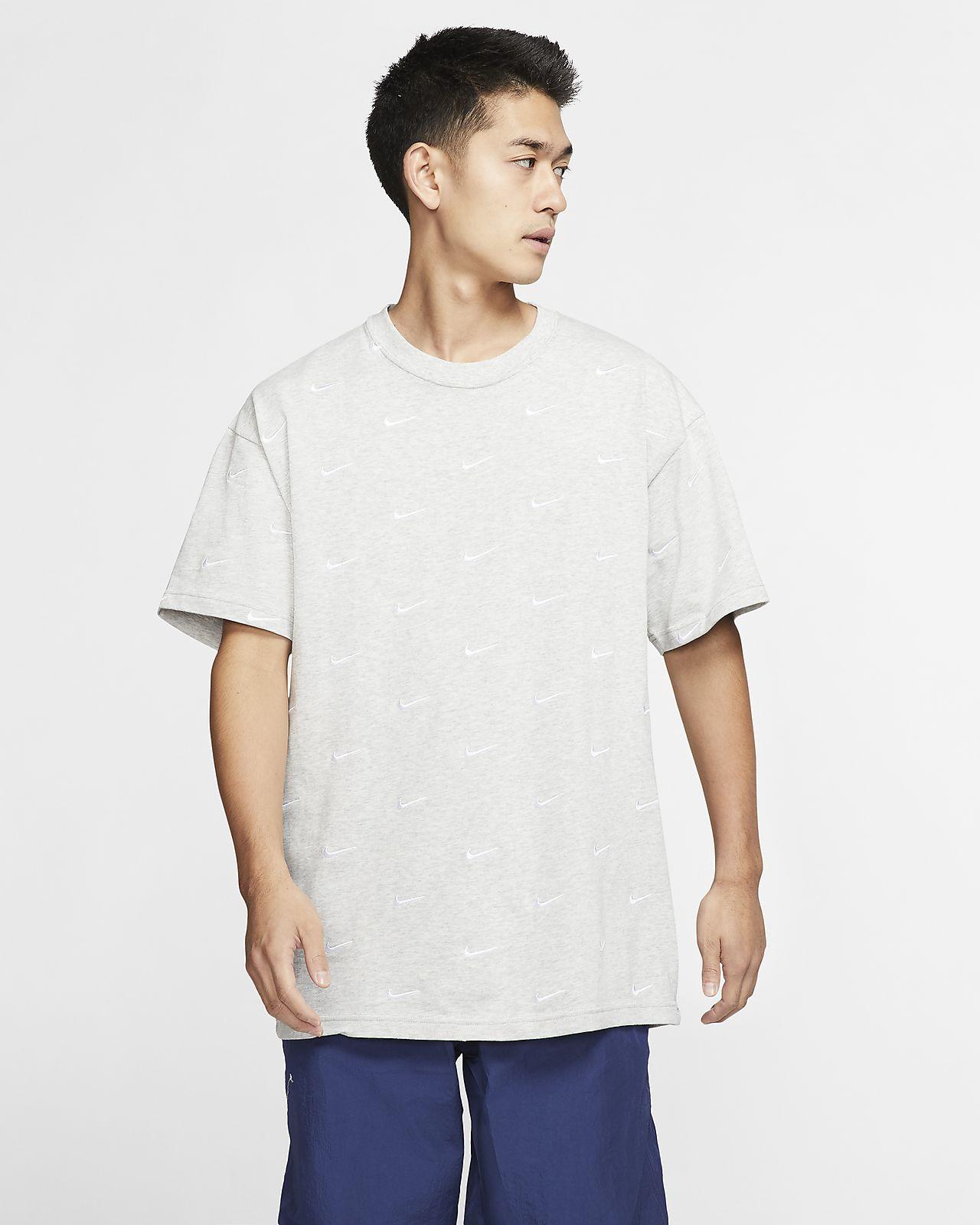 Nike Men's Swoosh Logo T-Shirt