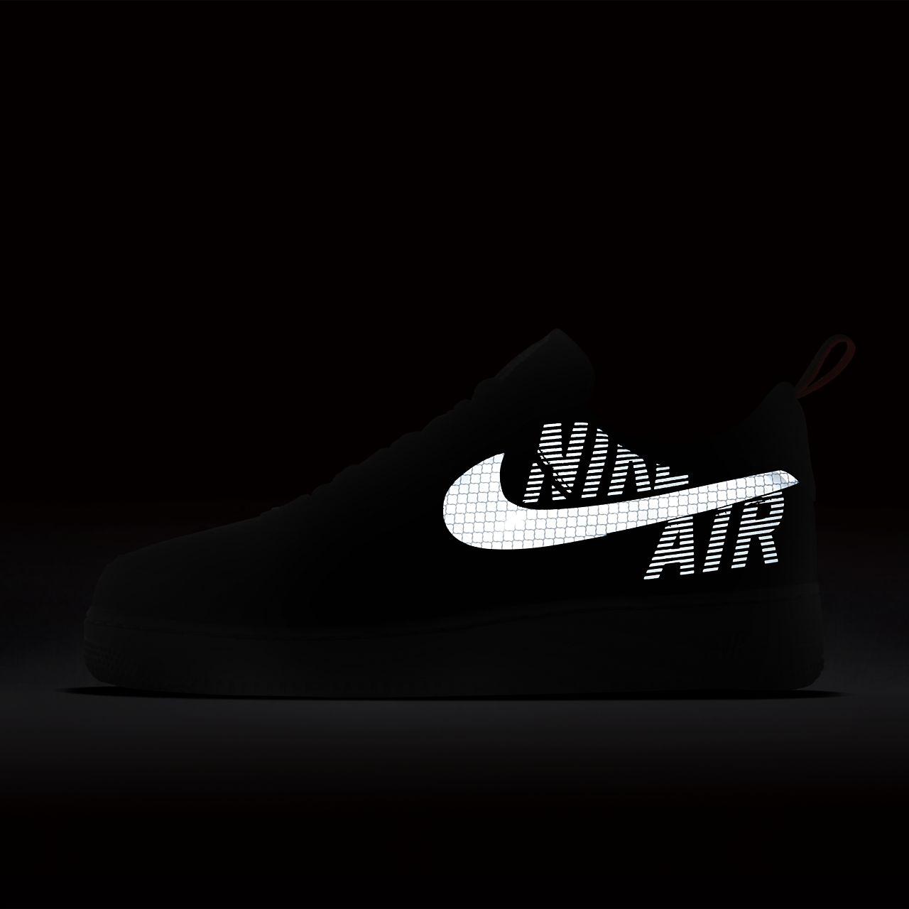Nike Air Force 1 '07 LV8 Black Pure Platinum AO2439 002 DW