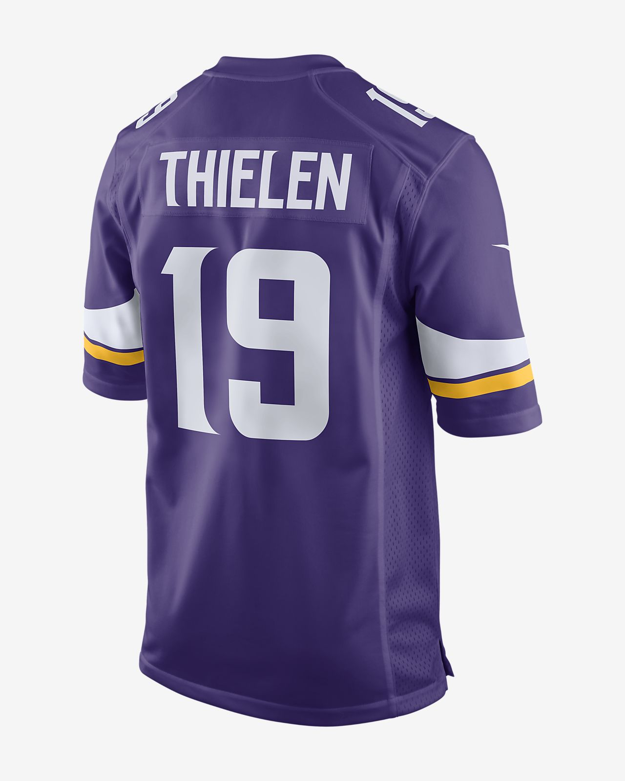 wholesale dealer 5e1da ea85b NFL Minnesota Vikings Game (Adam Thielen) Men's American Football Jersey