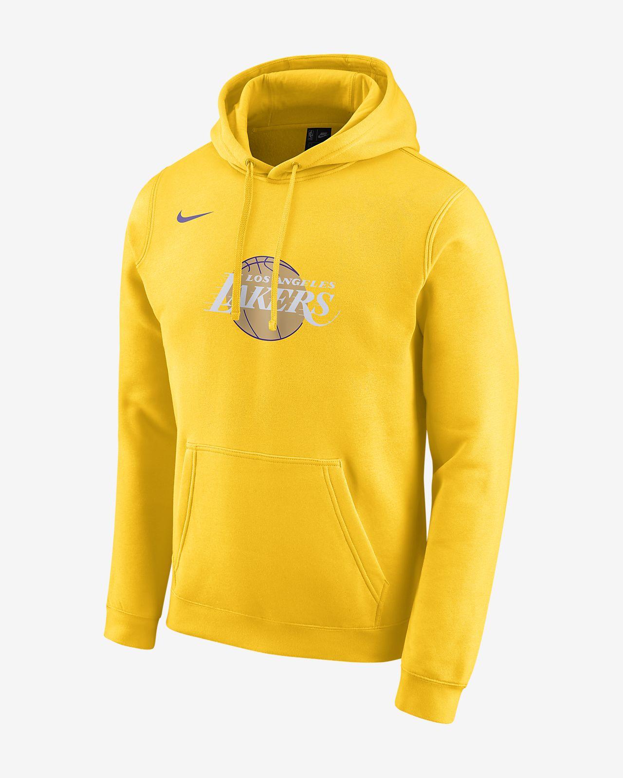 Lakers City Edition Logo Nike NBA Hoodie für Herren