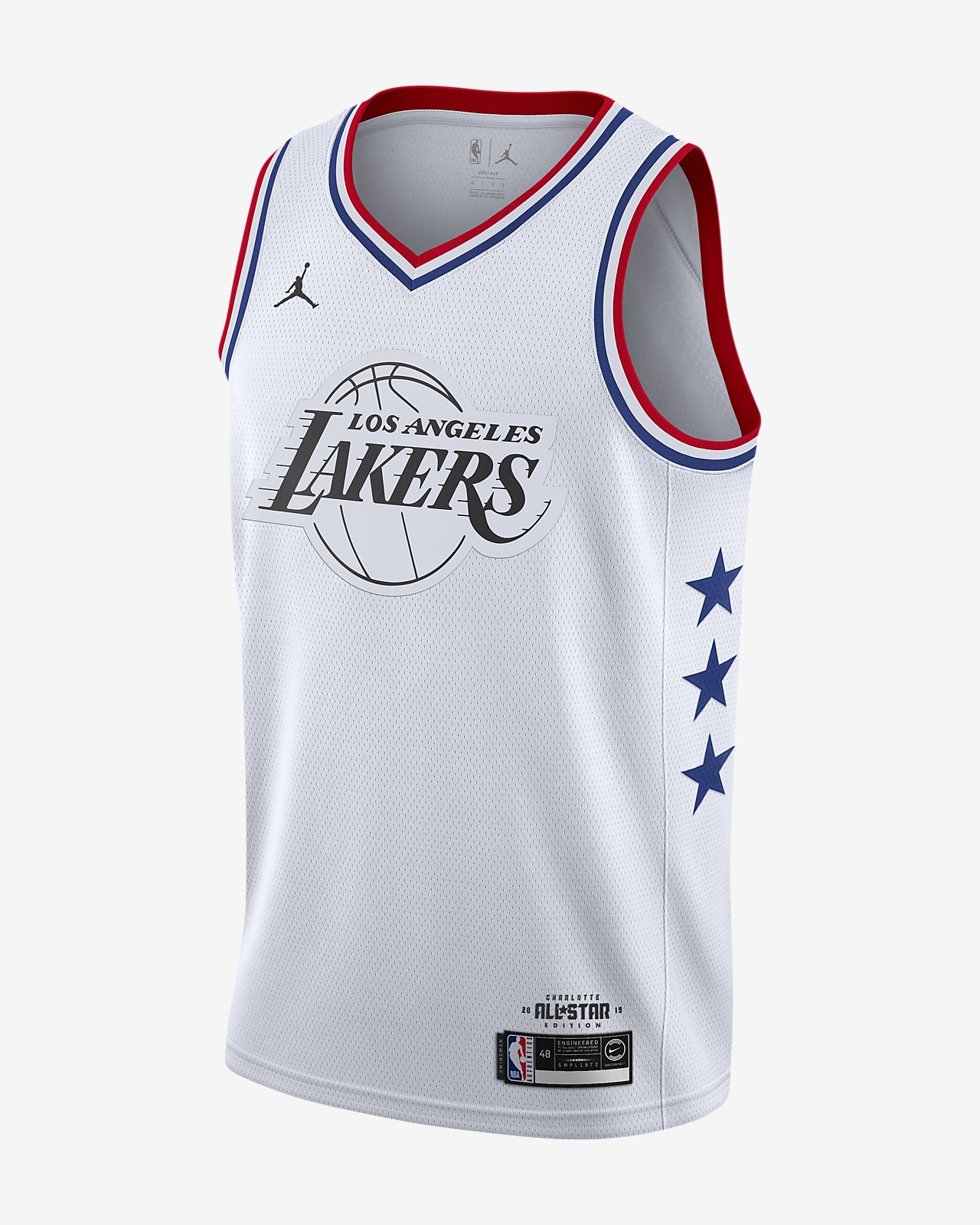 LeBron James All-Star Edition Swingman Men's Jordan NBA Connected Jersey
