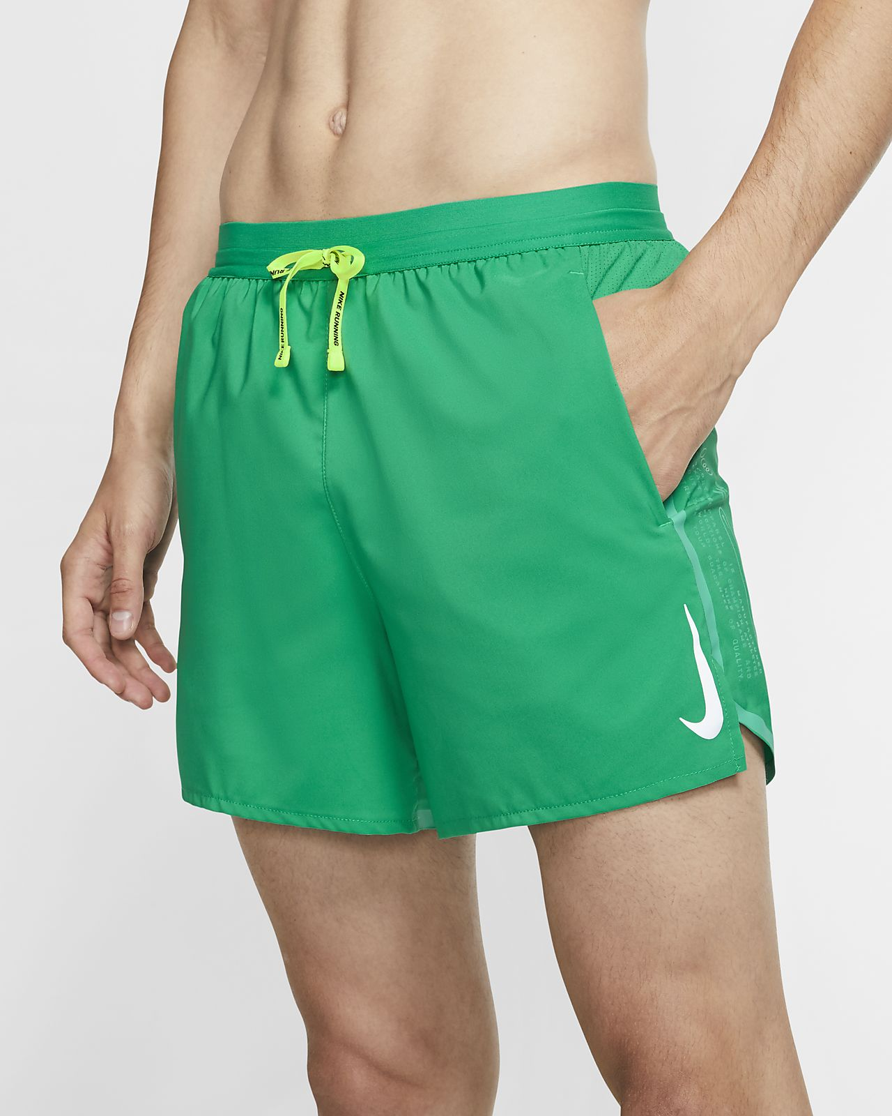 Short de running doublé Nike Air Flex Stride 12,5 cm pour Homme