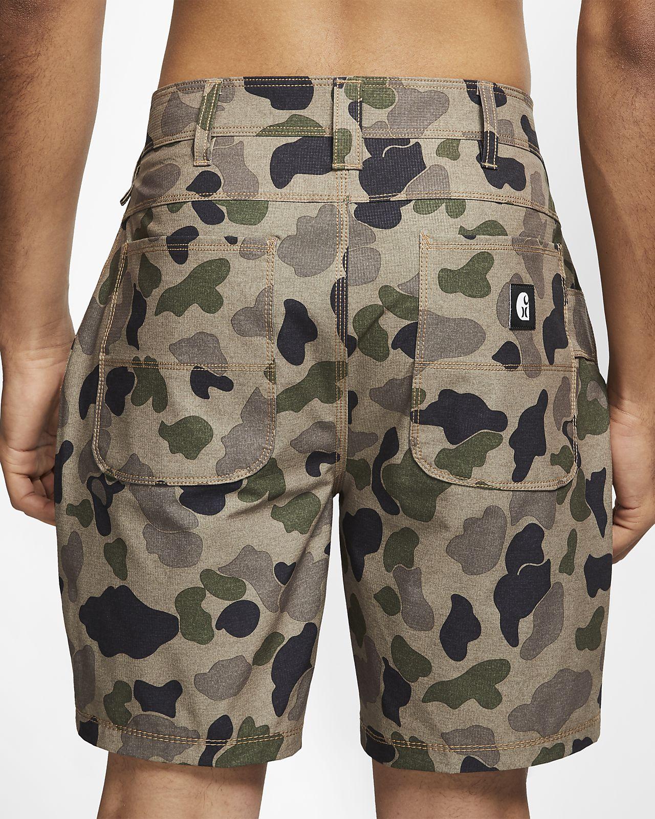 e966bffb Мужские шорты с камуфляжным принтом Hurley x Carhartt 48 см. Nike.com RU