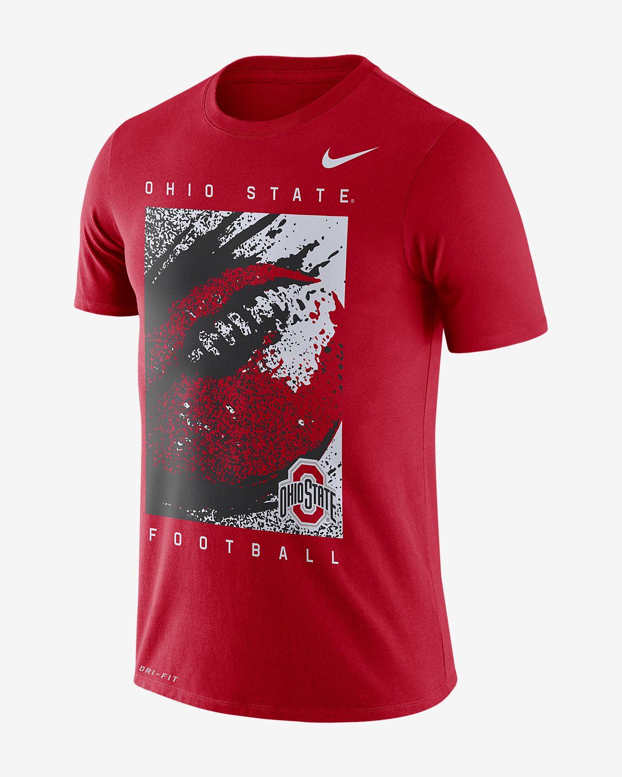 e341ef649 Nike College Dri-FIT (Ohio State) Men's T-Shirt. Nike.com